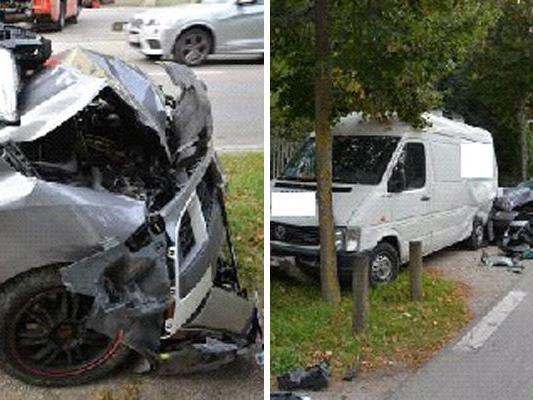 Der Unfall ereignete sich Dienstagfrüh.