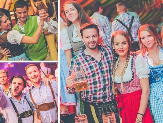 Die besten Fotos vom amstag auf der Wiener Wiesn.