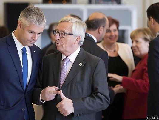 Juncker warnte vor einem Scheitern