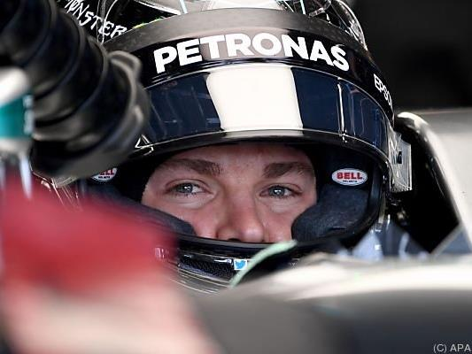 Rosberg dominierte Freies Training