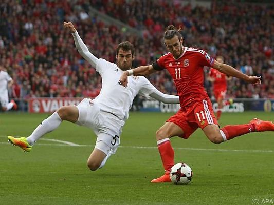 Superstar Gareth Bale brachte die Waliser zunächst in Führung