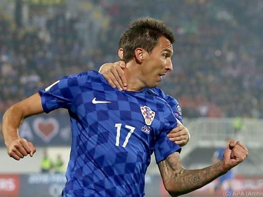 Mandzukic ließ Kroatien erneut jubeln