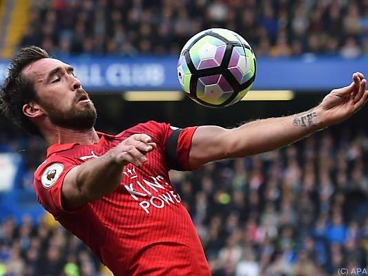 Christian Fuchs fühlt sich wohl in Leicester