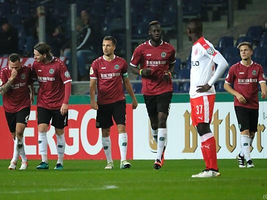 Hannover 96 fertigte Fortuna Düsseldorf 6:1 ab