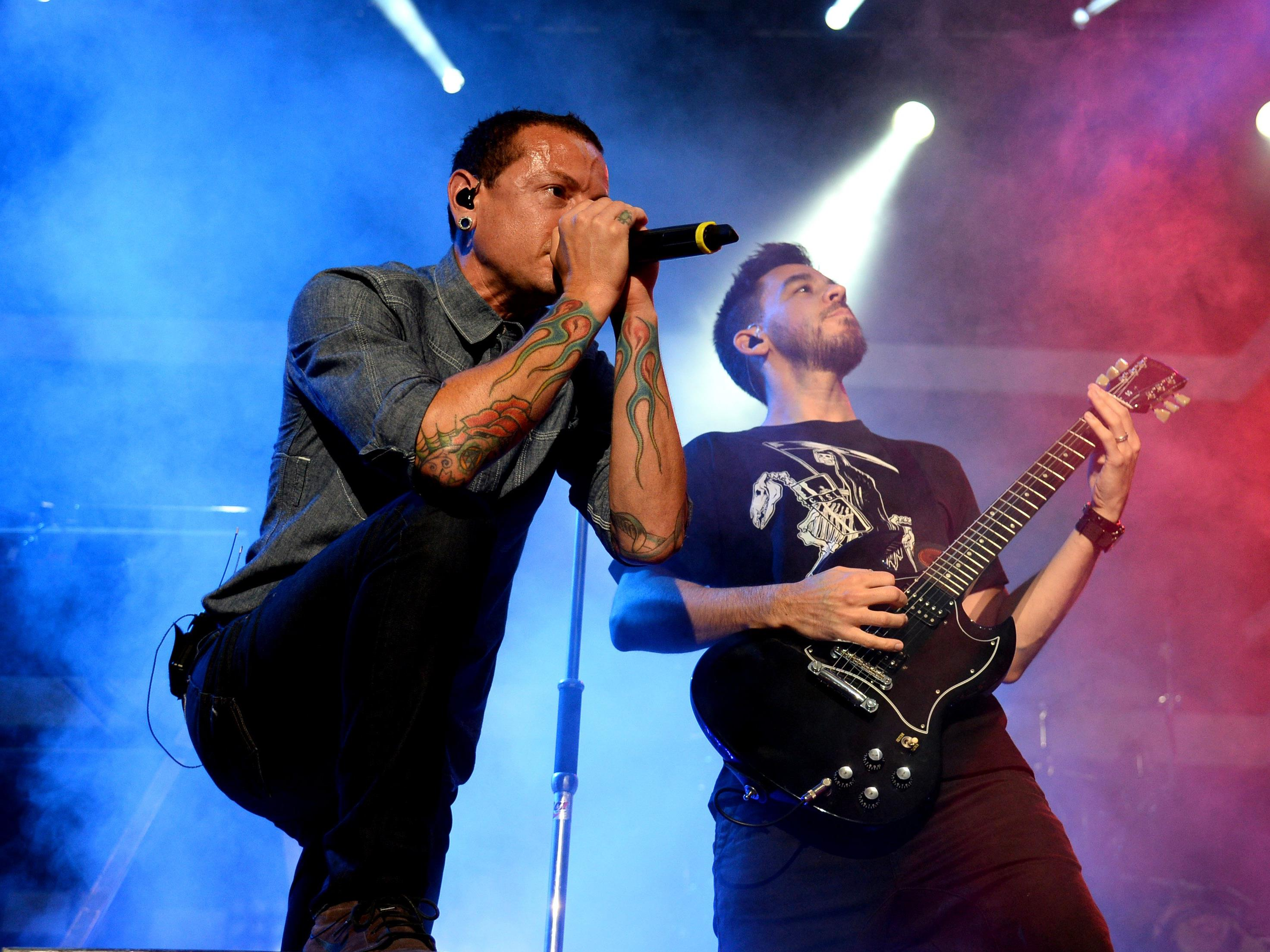 Linkin Park als Headliner beim Nova Rock Festival 2017.