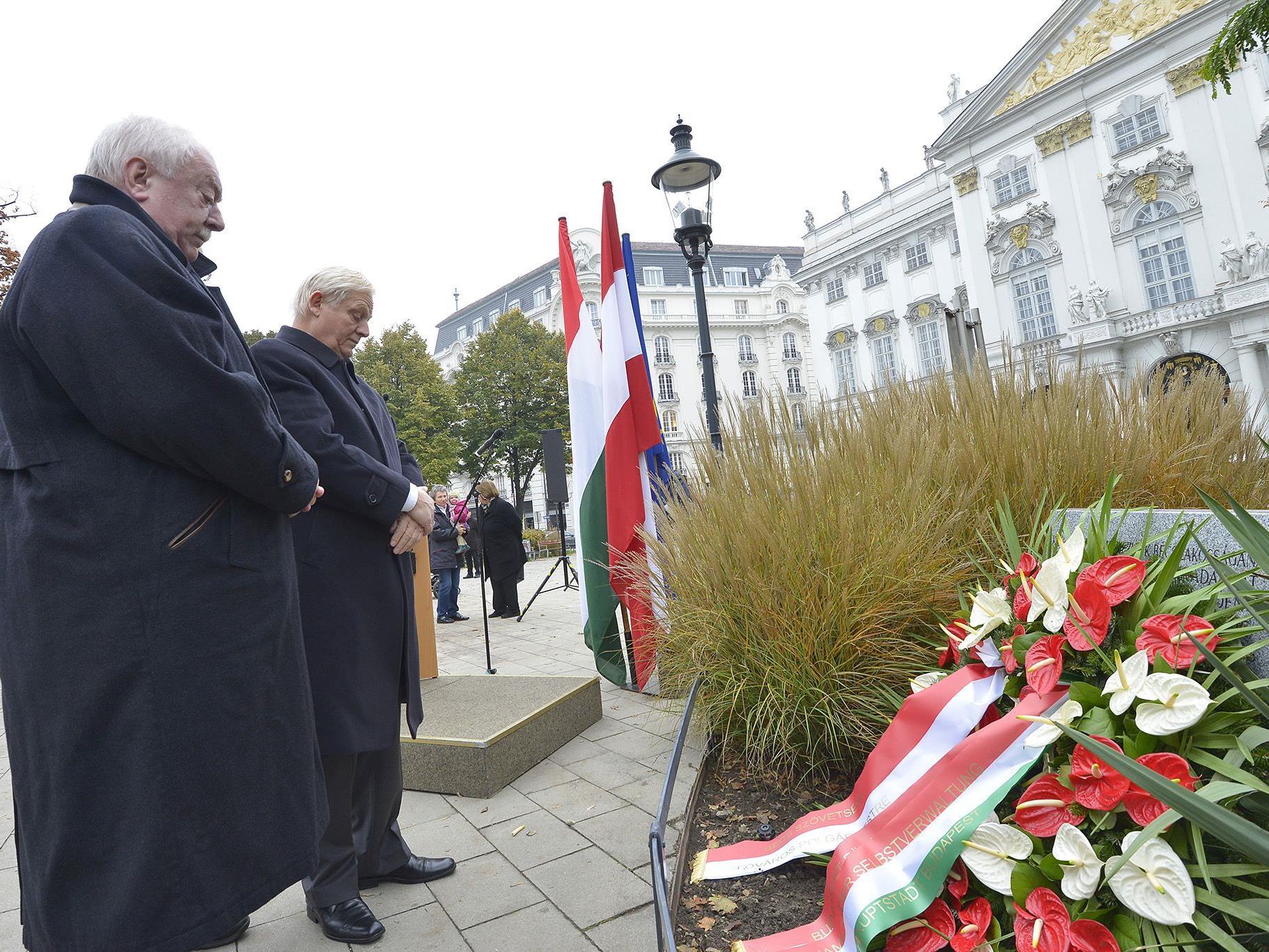 60. Gedenktag des Ungarnaufstandes.