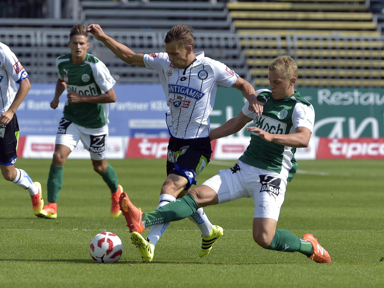 LIVE-Ticker zum Spiel SK Sturm Graz gegen SV Mattersburg ab 16.00 Uhr.