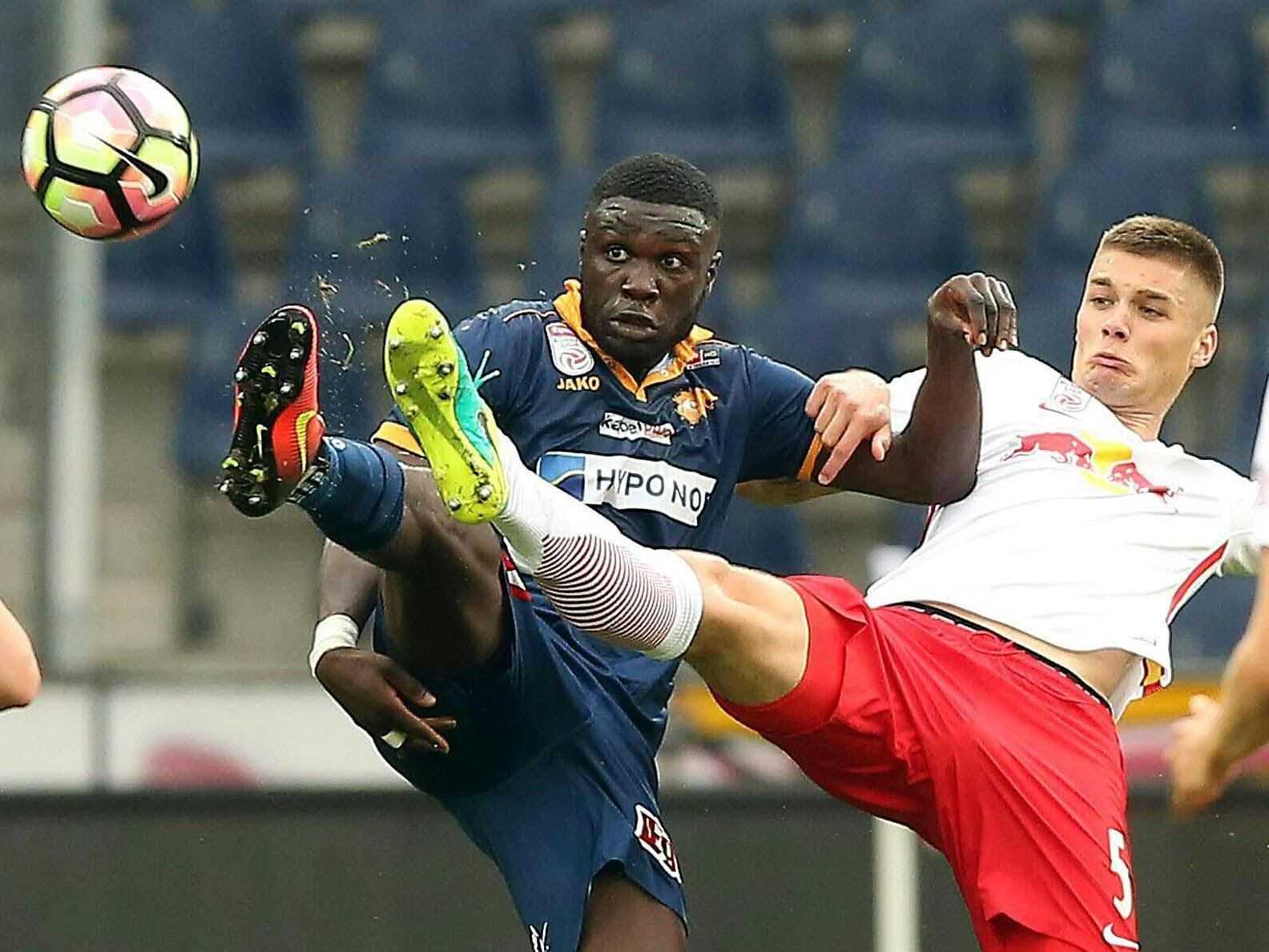 LIVE-Ticker zum Spiel SKN St. Pölten gegen Red Bull Salzburg ab 14.00 Uhr.
