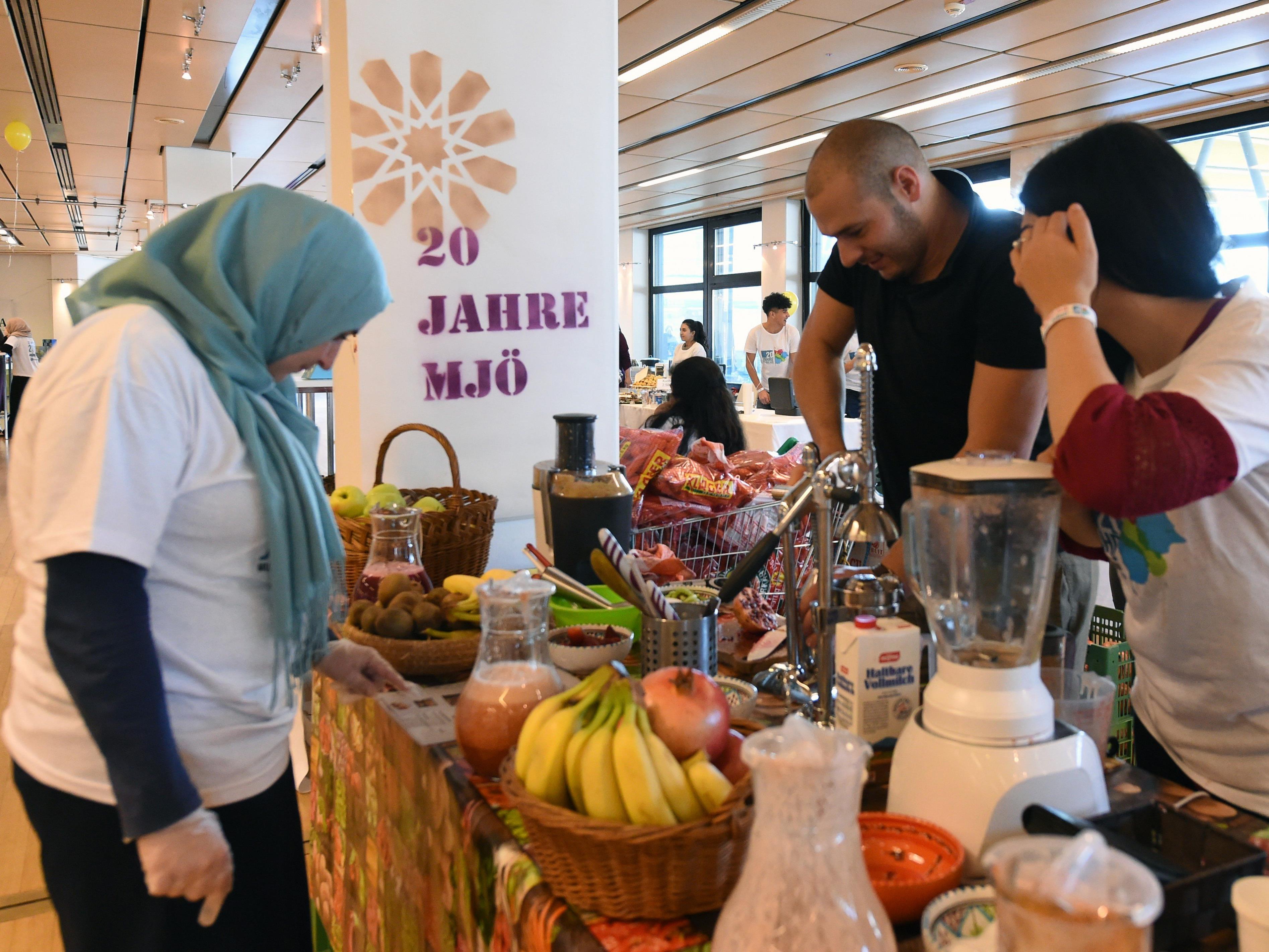 Die Muslimische Jugend Österreich feiere ihr 20-jähriges Bestehen.