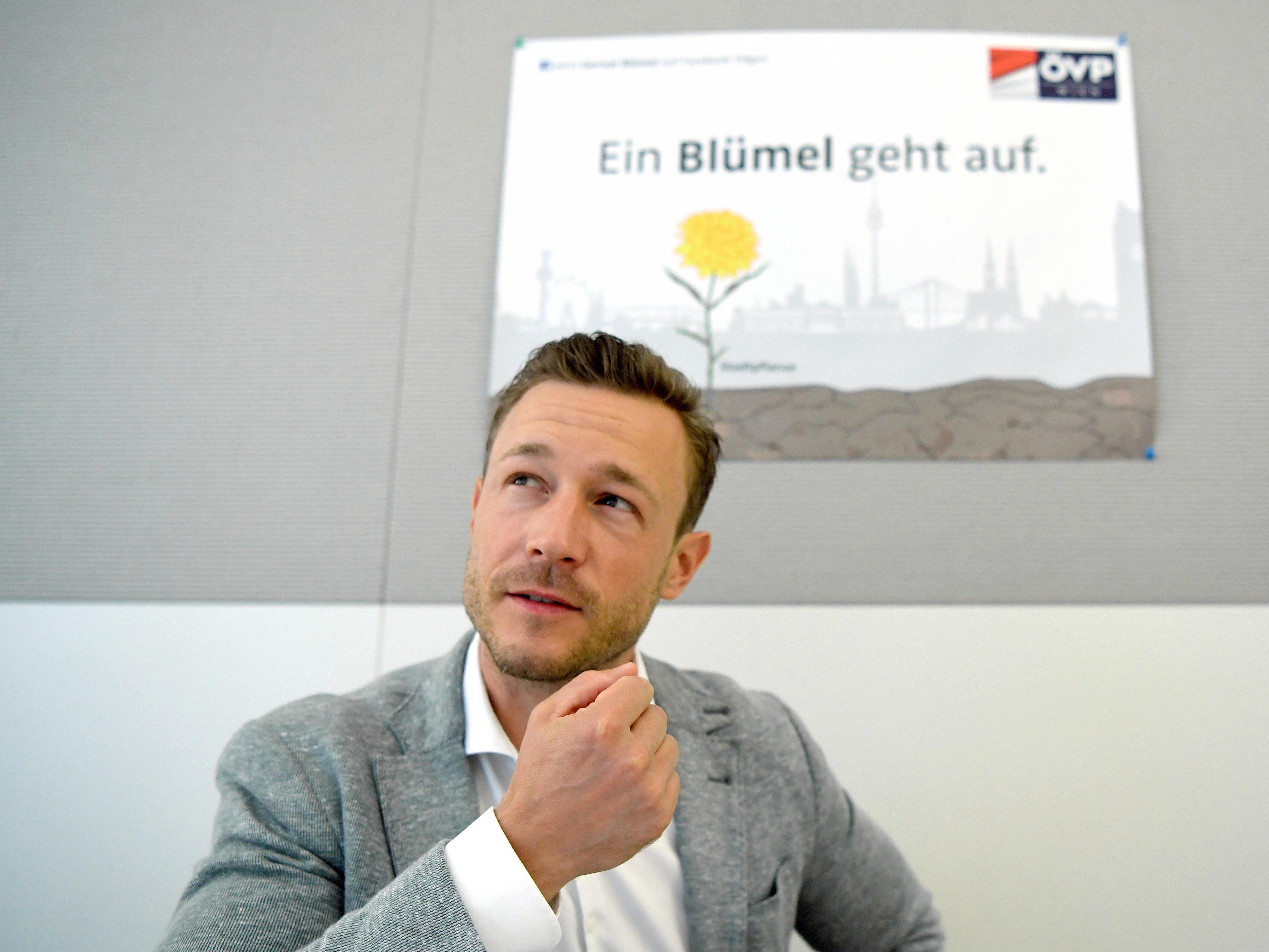 Der Obmann der ÖVP Wien zieht Bilanz nach einem Jahr im Amt