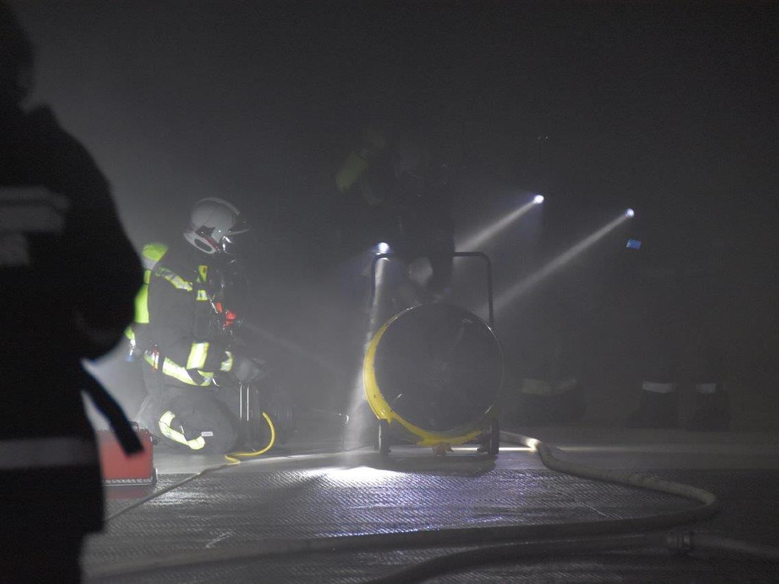 Brandeinsatz in Wien-Döbling