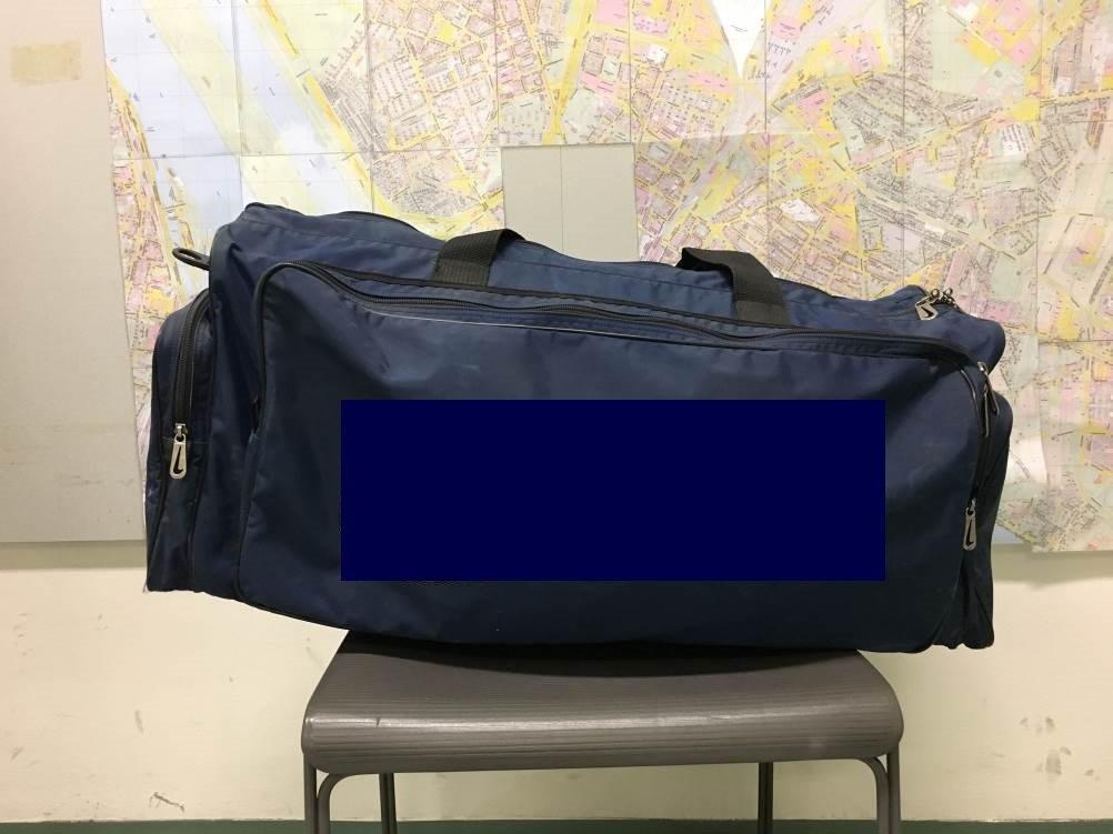 Ein Drogenkurier hat seine mit Suchtgift gefüllte Tasche im Zug vergessen