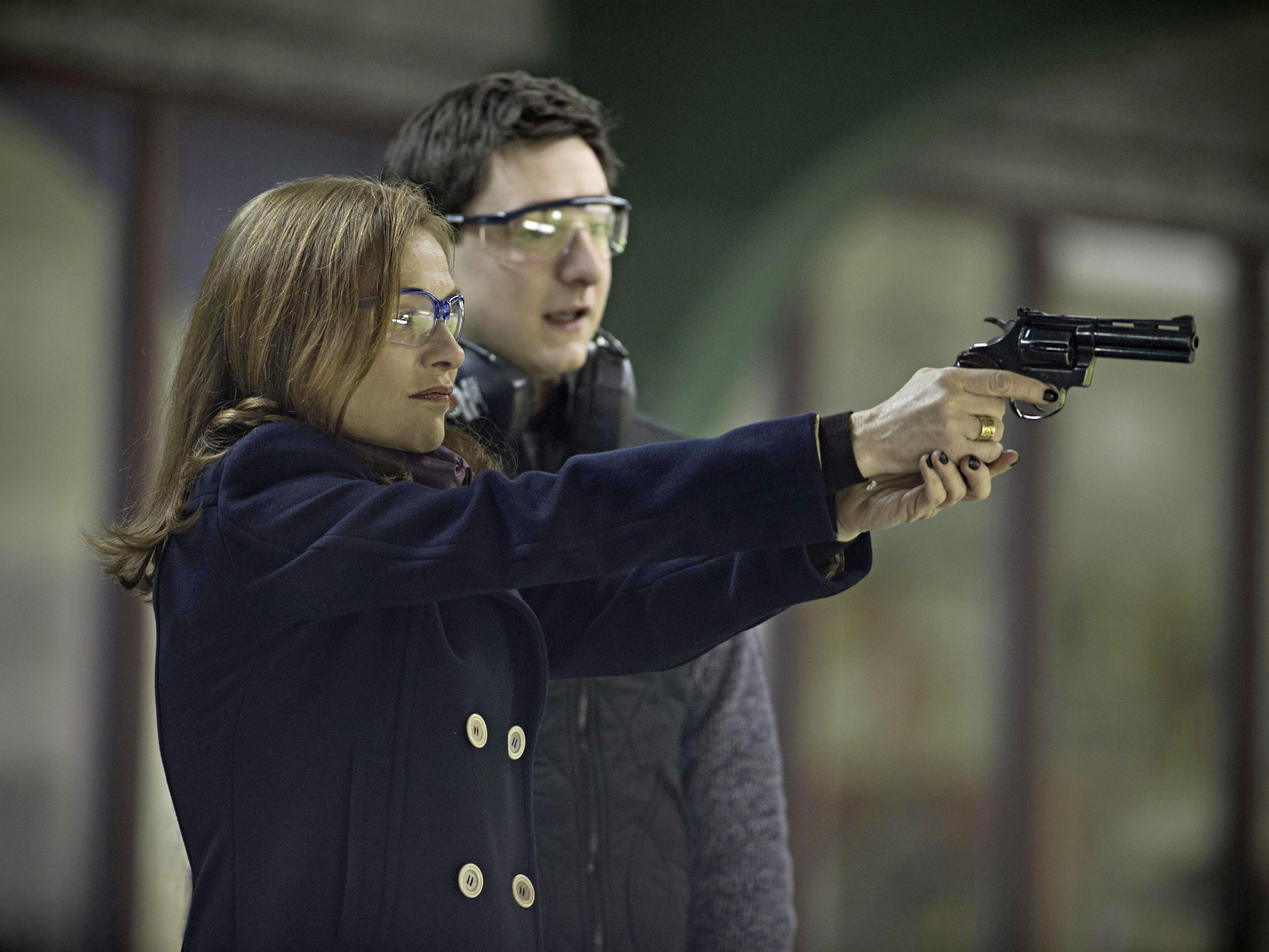 "Isabelle Huppert in Paul Verhoevens ""Elle"""