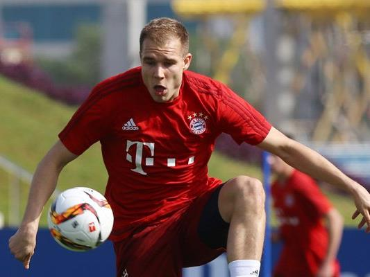Holger Badstuber trainiert wieder mit der Bayern-Mannschaft.