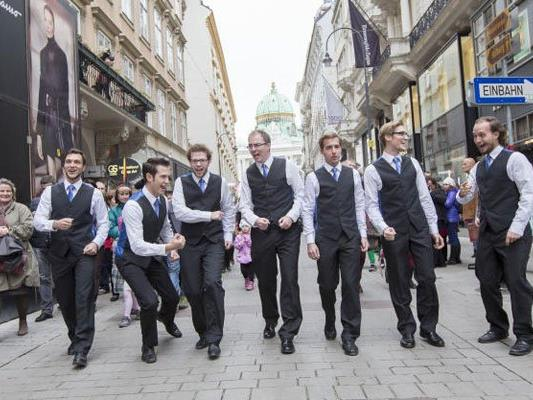 "Das ""Voice Mania""-Festival bringt A Cappella Musik in die Innenstadt."
