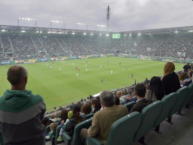 Das Allianz Stadion ist die neue Heimstätte des SK Rapid Wien.