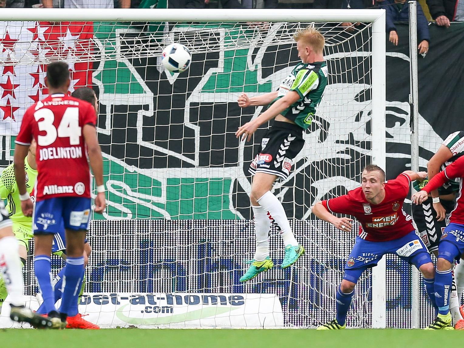 Rapid Wien verlor gegen den SV ried mit 2:4.