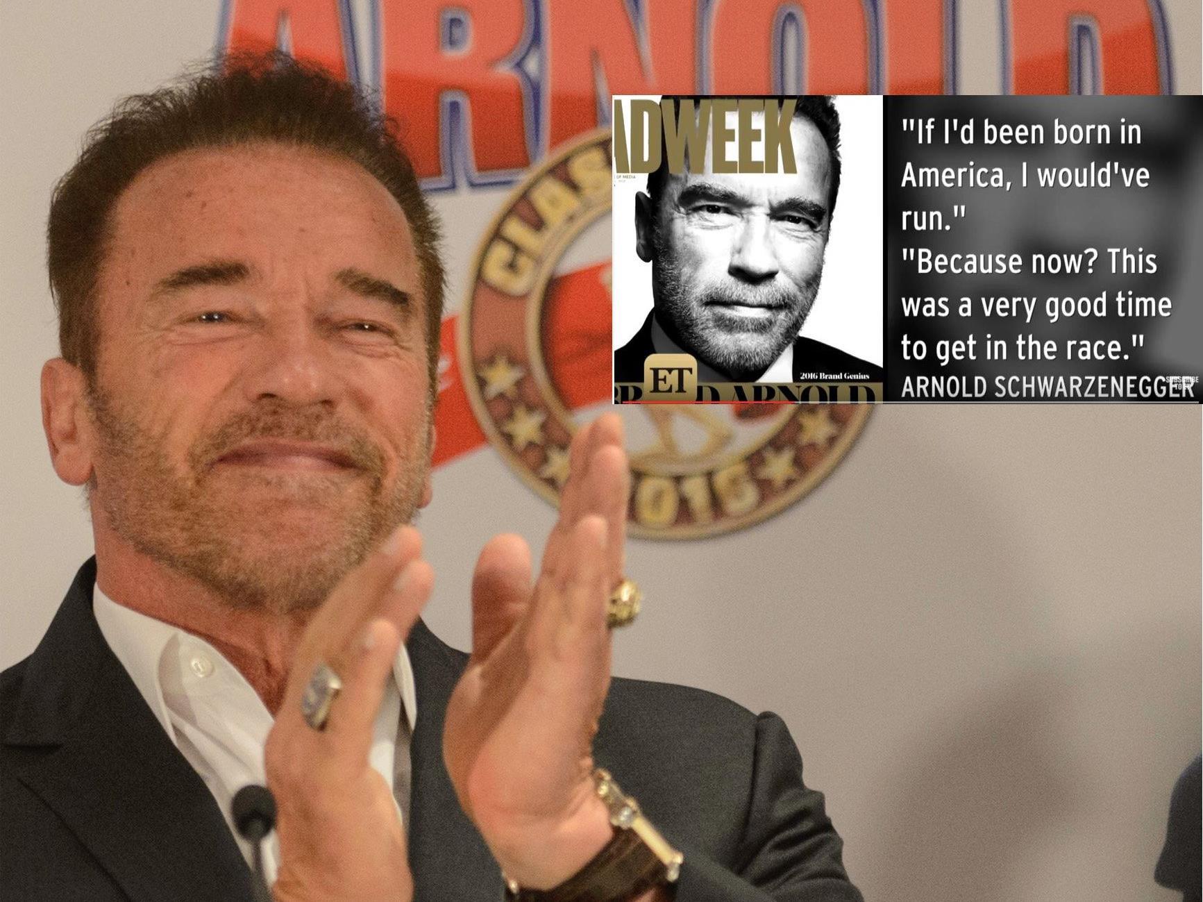 Arnold Schwarzenegger ist wieder mit Filmprojekten beschäftigt.