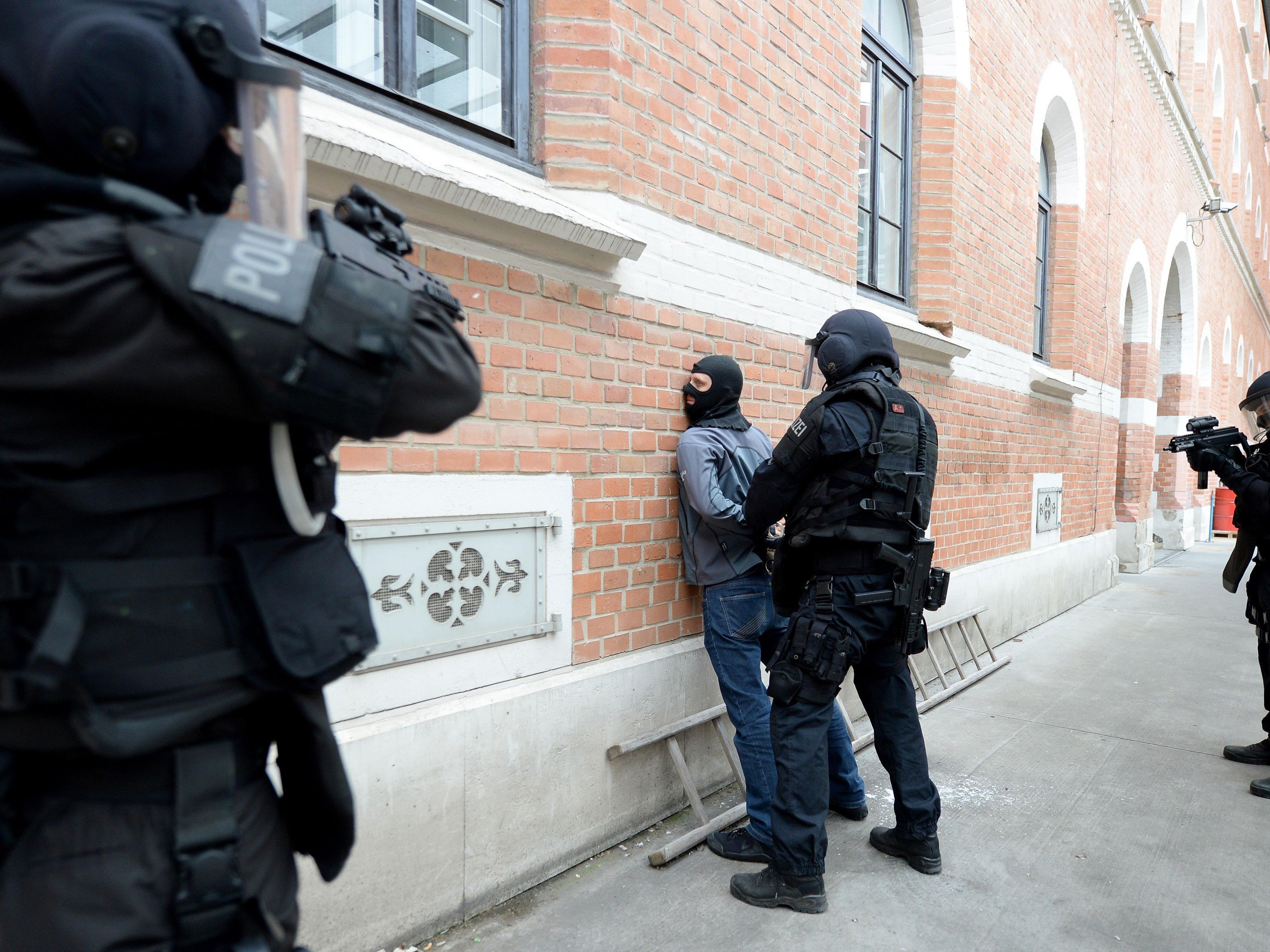 """Polizisten der Sondereinheit """"Einsatzkommando Cobra"""" werden bei der Groß-Einsatzübung dabei sein"""