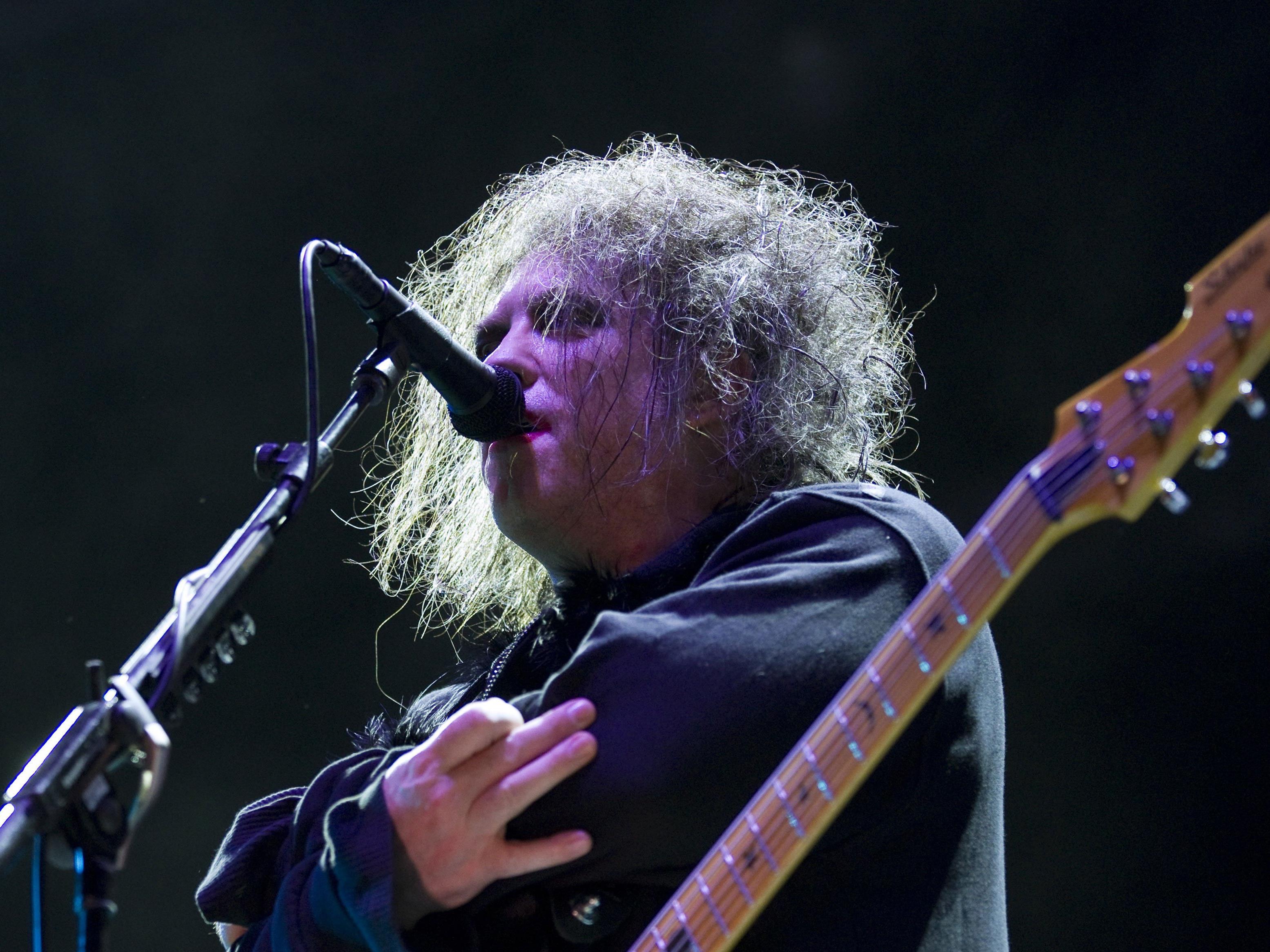 The Cure-Frontman Robert Smith beehrte mit seiner Band die Bundeshauptstadt