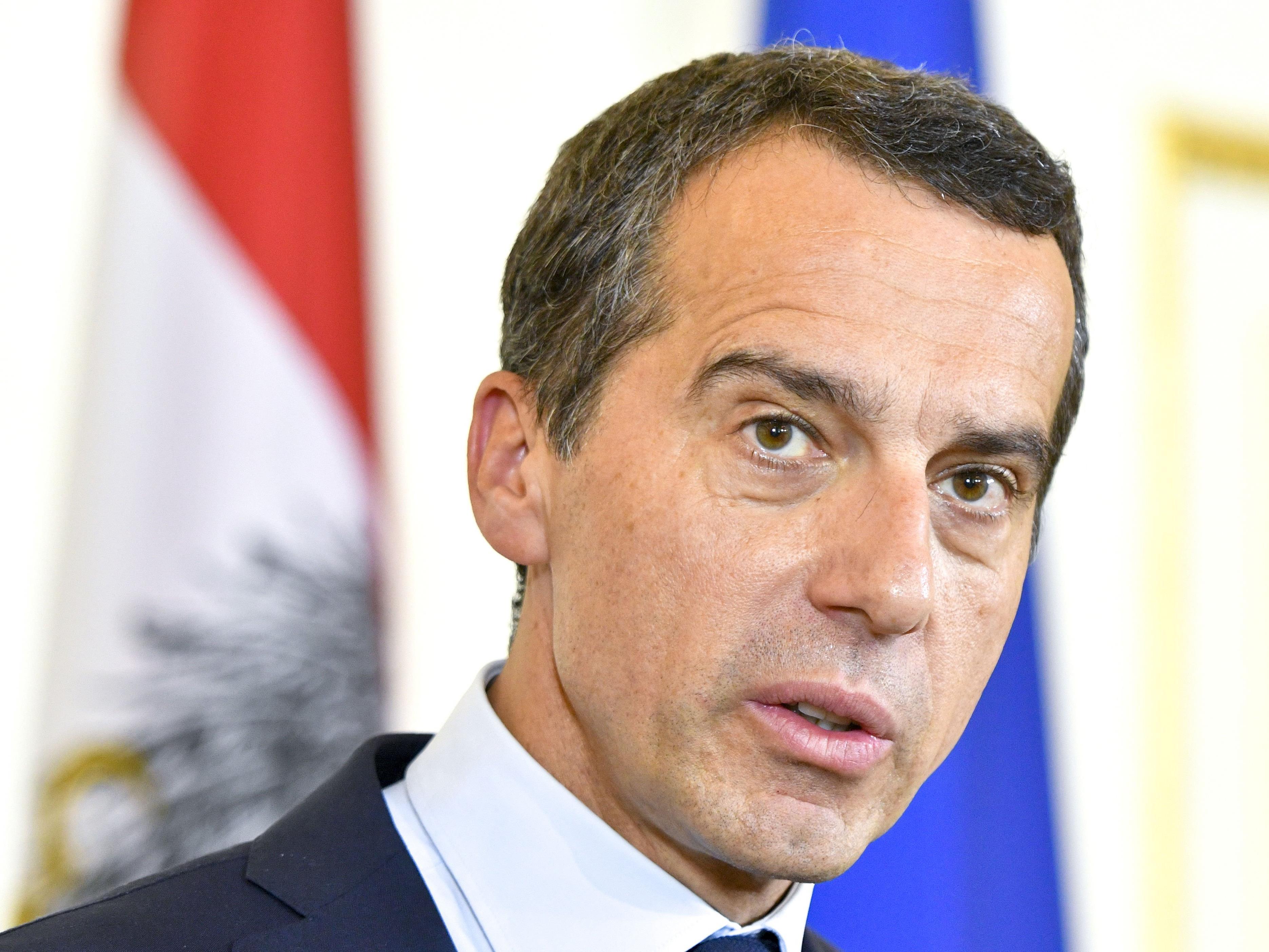 BK Christian Kern sieht EU-Vorsitz nicht als Grund für vorgezogene Wahl