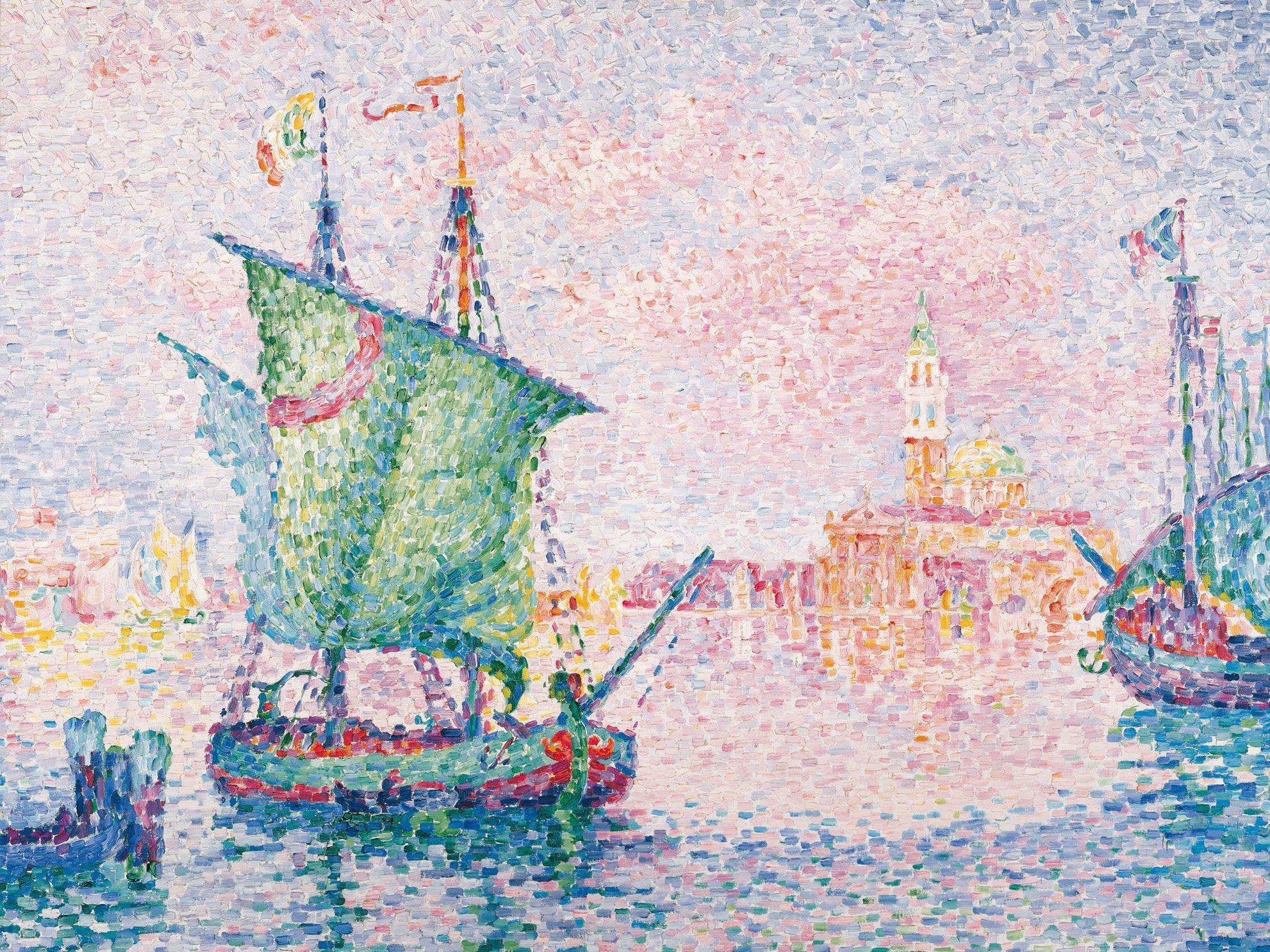 Paul SIgnac - Venedig, die rosa Wolke, 1909