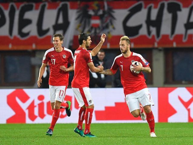 Das ÖFB-Team lieferte ein solides Spiel gegen Wales.