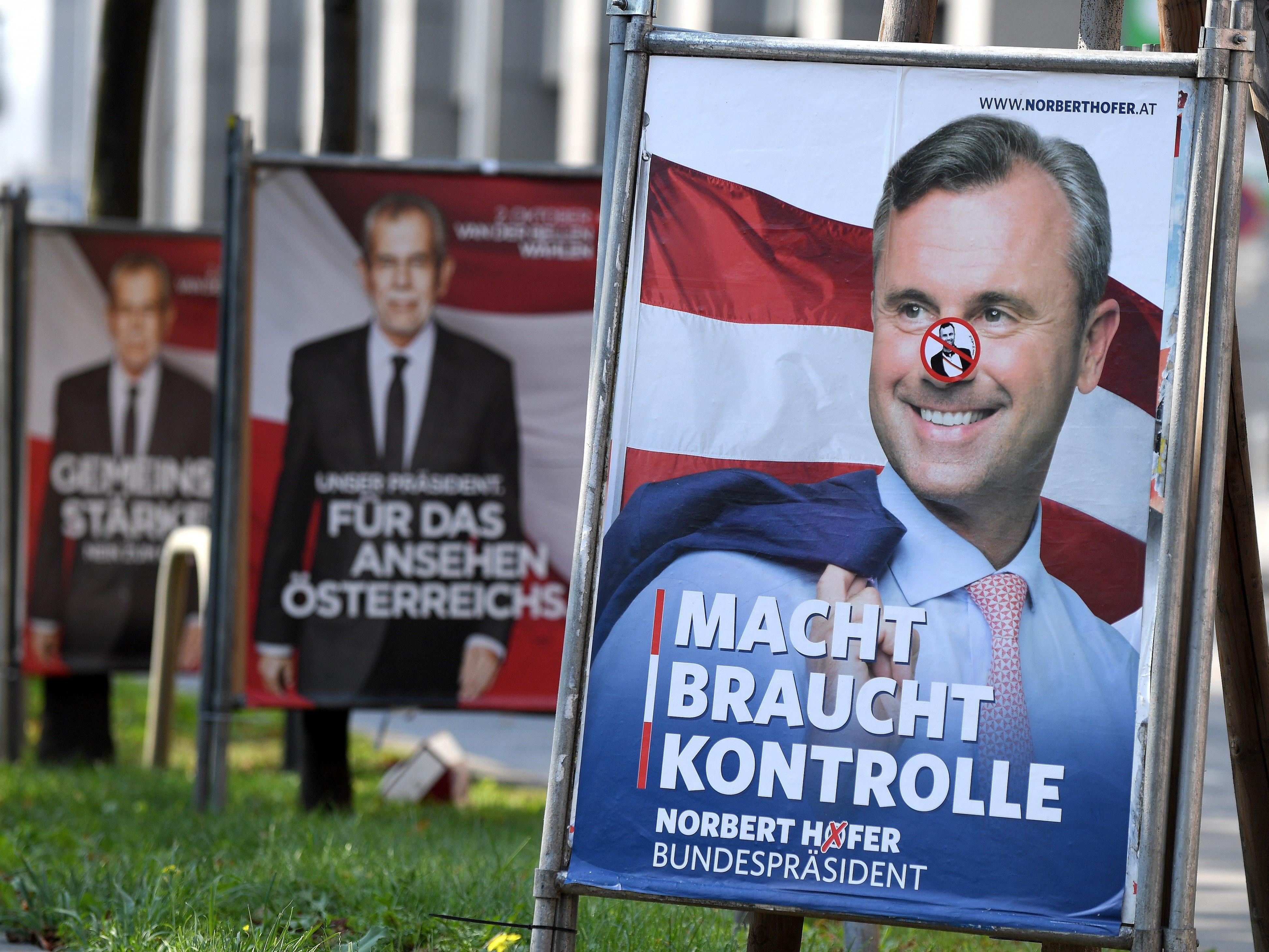 Vor der Wiederholung der Bundespräsidentschafts-Stichwahl erfolgt ein Intensiv-Wahlkampf