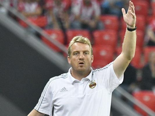 Rapid-Trainer Mike Büskens hofft gegen Altach auf die Trendwende.
