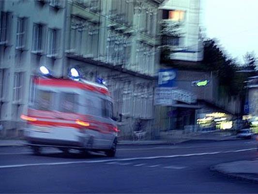 Unfälle am Sonntag in Wien.