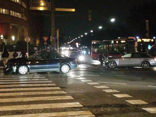 In der Brigittenau kam es zu einem Verkehrsunfall.