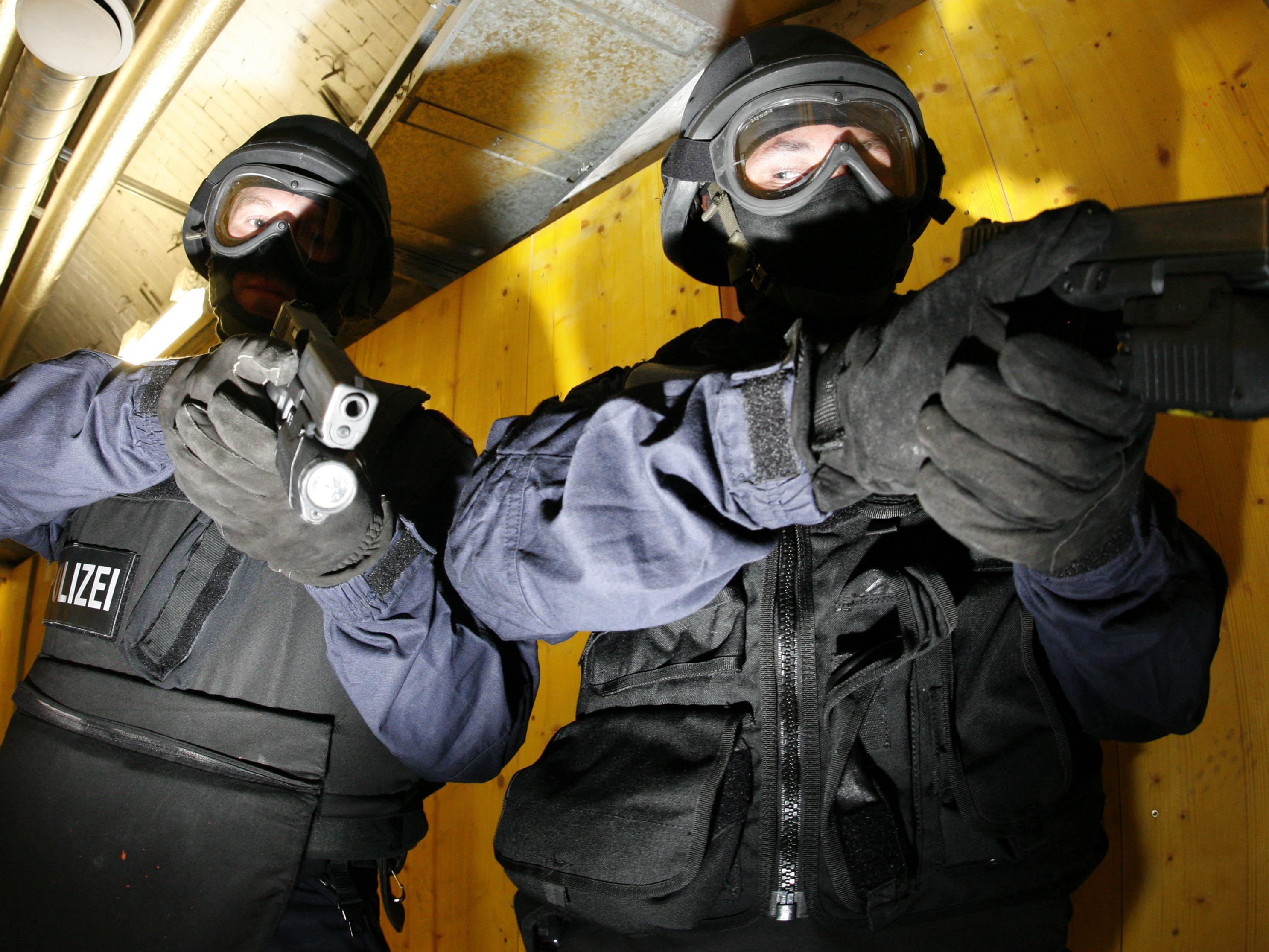 Schüssen in Favoriten riefen die Spezialeinheit WEGA auf den Plan