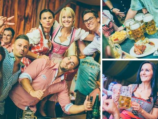 Die besten Fotos vom ersten Oktober-Samstag auf der Wiener Wiesn.