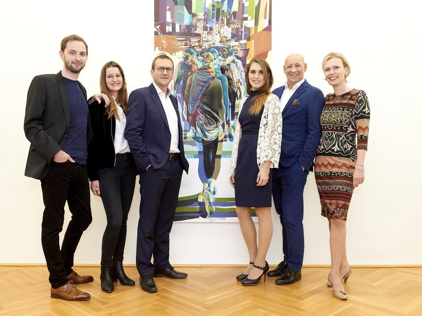 Plattform für junge Künstler in Wien.