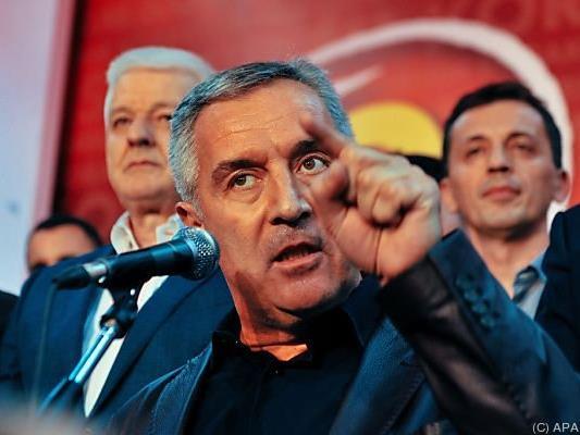 Die Partei von Langzeitregierungschef Djukanovic gewann die Wahl