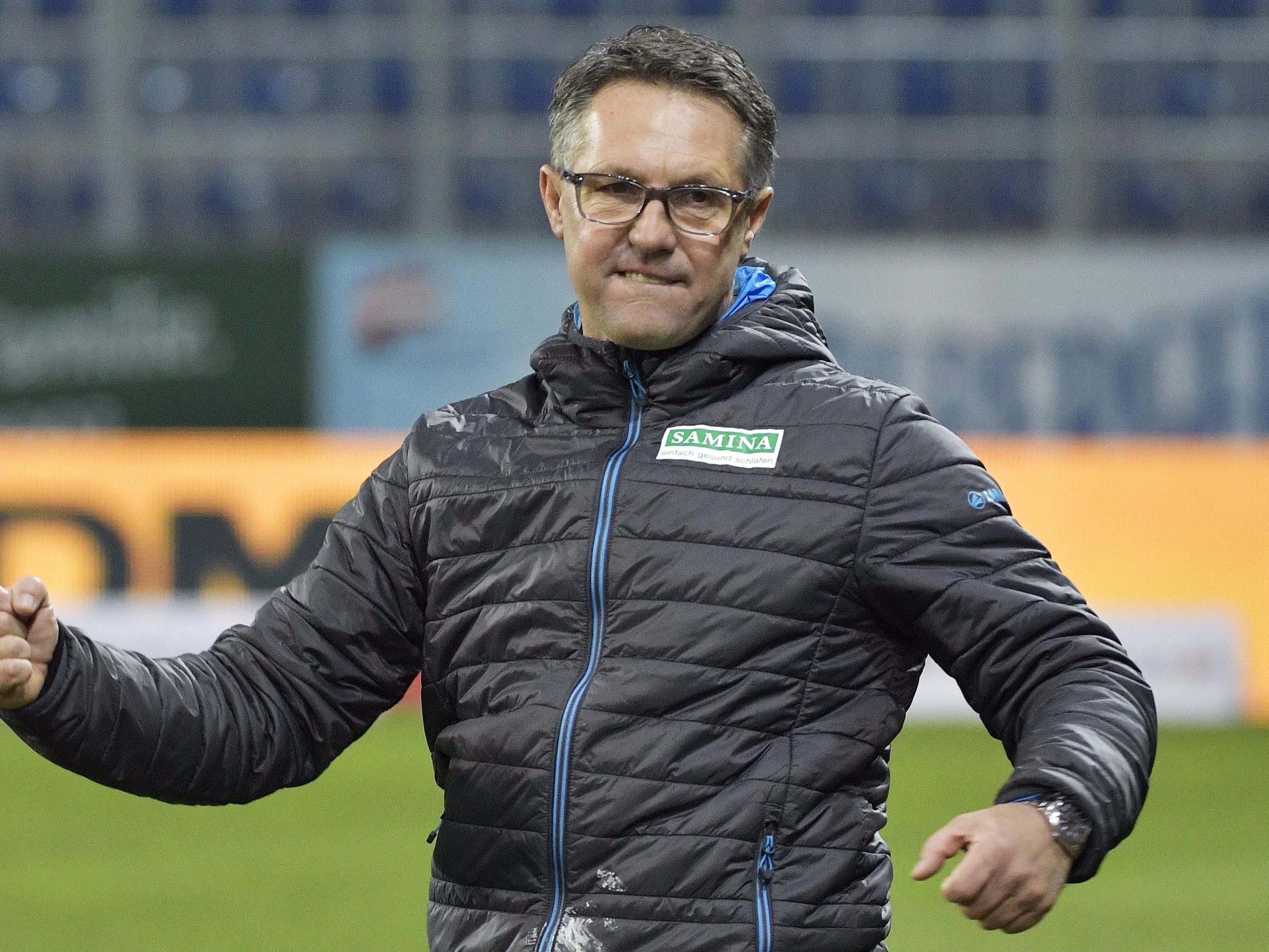 LIVE von der Pressekonferenz von Rapid Wien zu Neo-Trainer Damir Canadi.