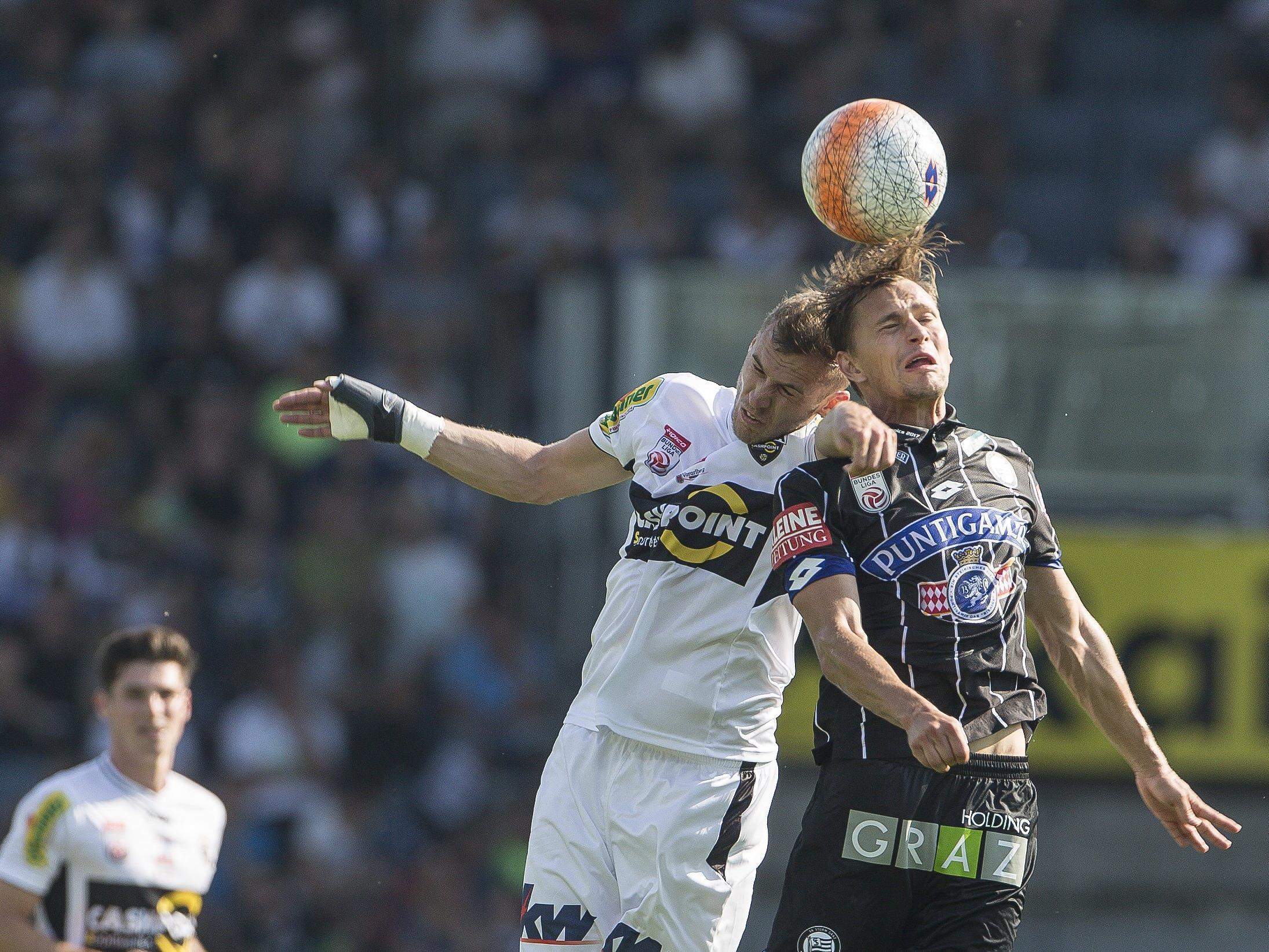 LIVE-Ticker zum Spiel SCR Altach gegen SK Sturm Graz ab 16.00 Uhr.