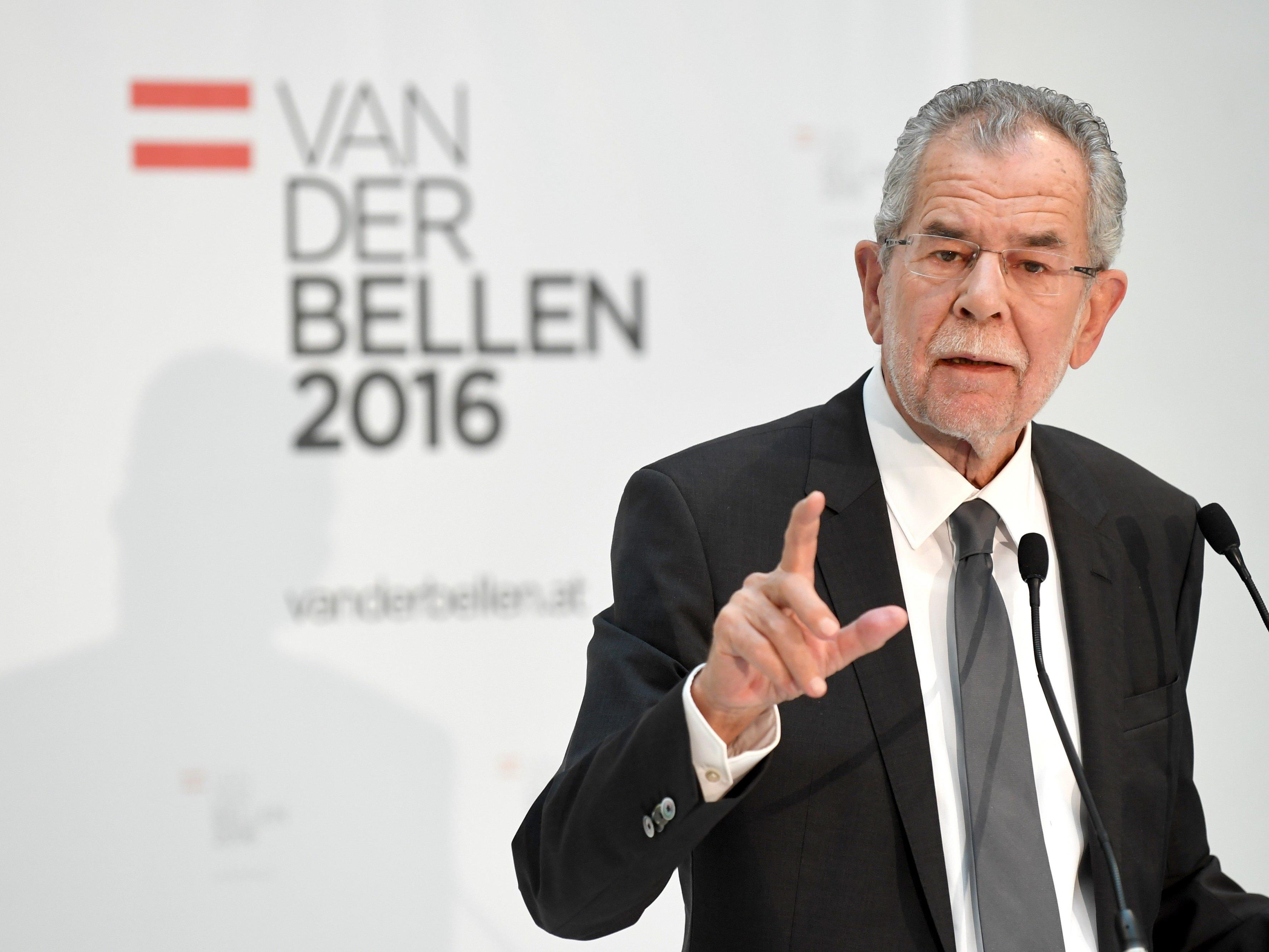 Alexander Van der Bellen steht unter Zugzwang.