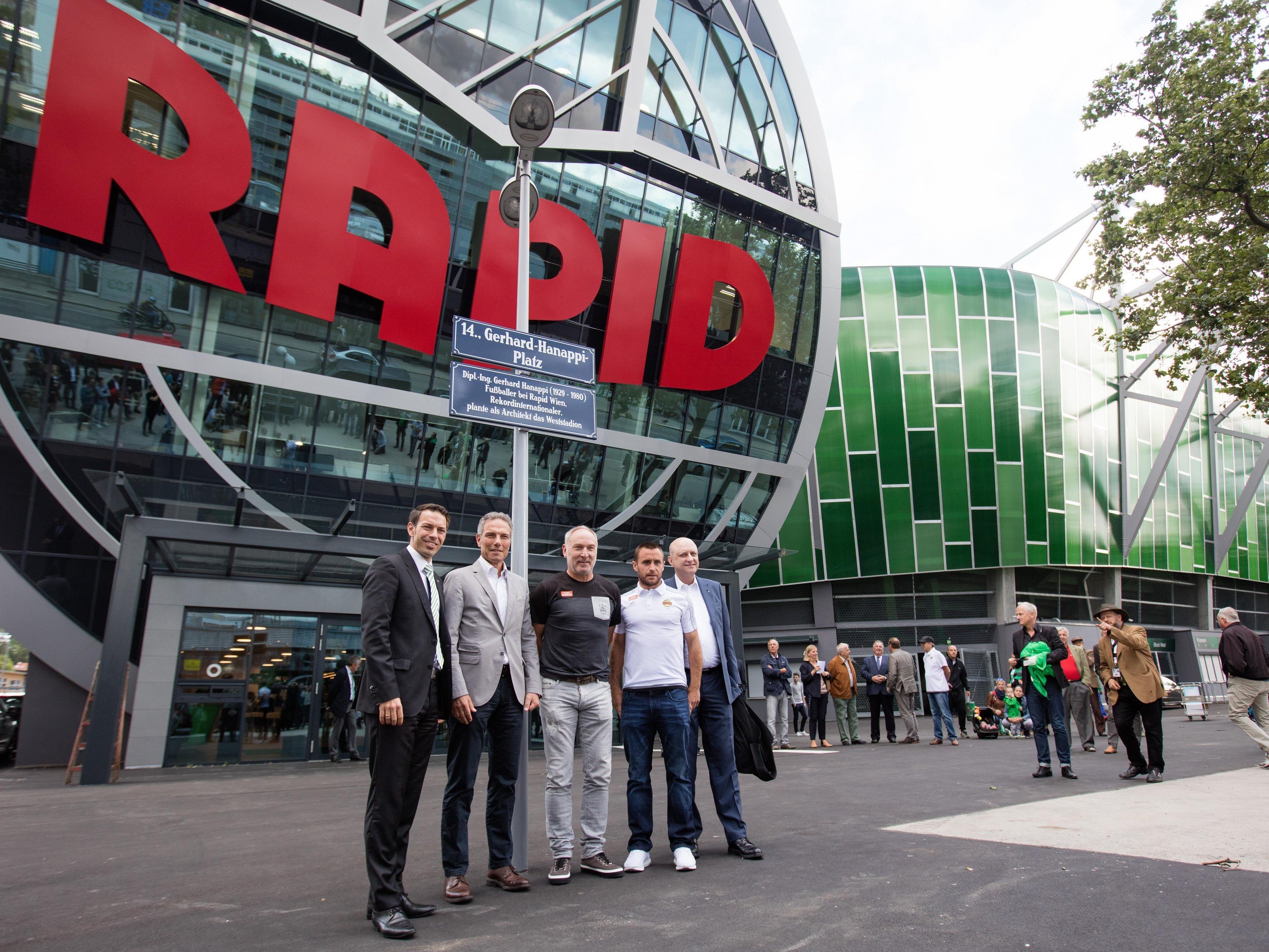 Rapids Chefetage durfte sich vergangene Saison über satte Europa-League-Einnahmen freuen.