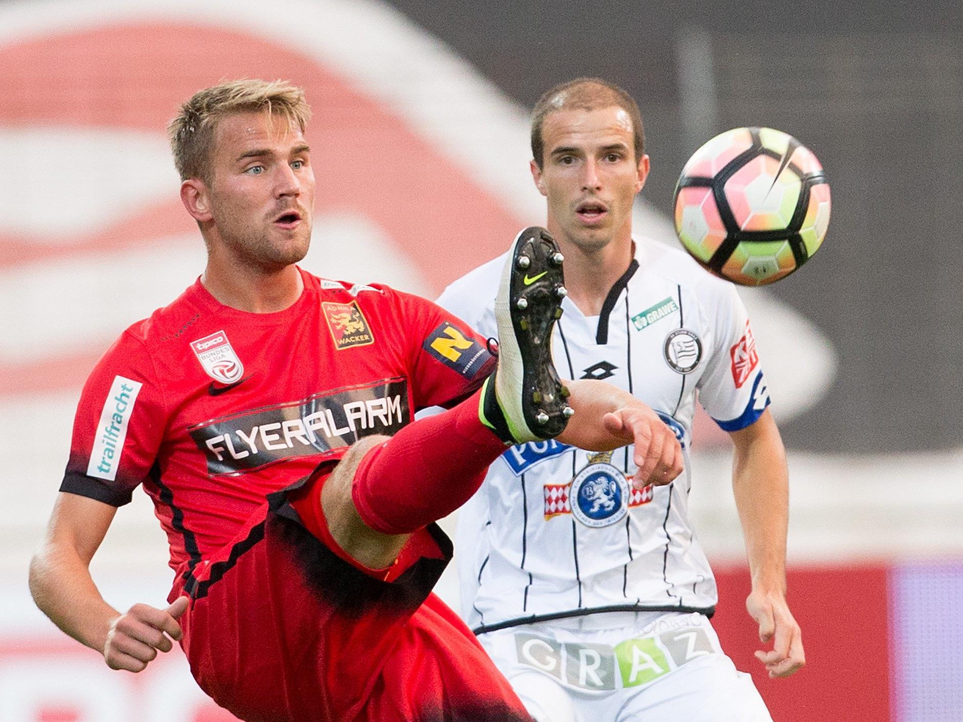LIVE-Ticker zum Spiel SK Sturm Graz gegen FC Admira Wacker Mödling ab 20.30 Uhr.