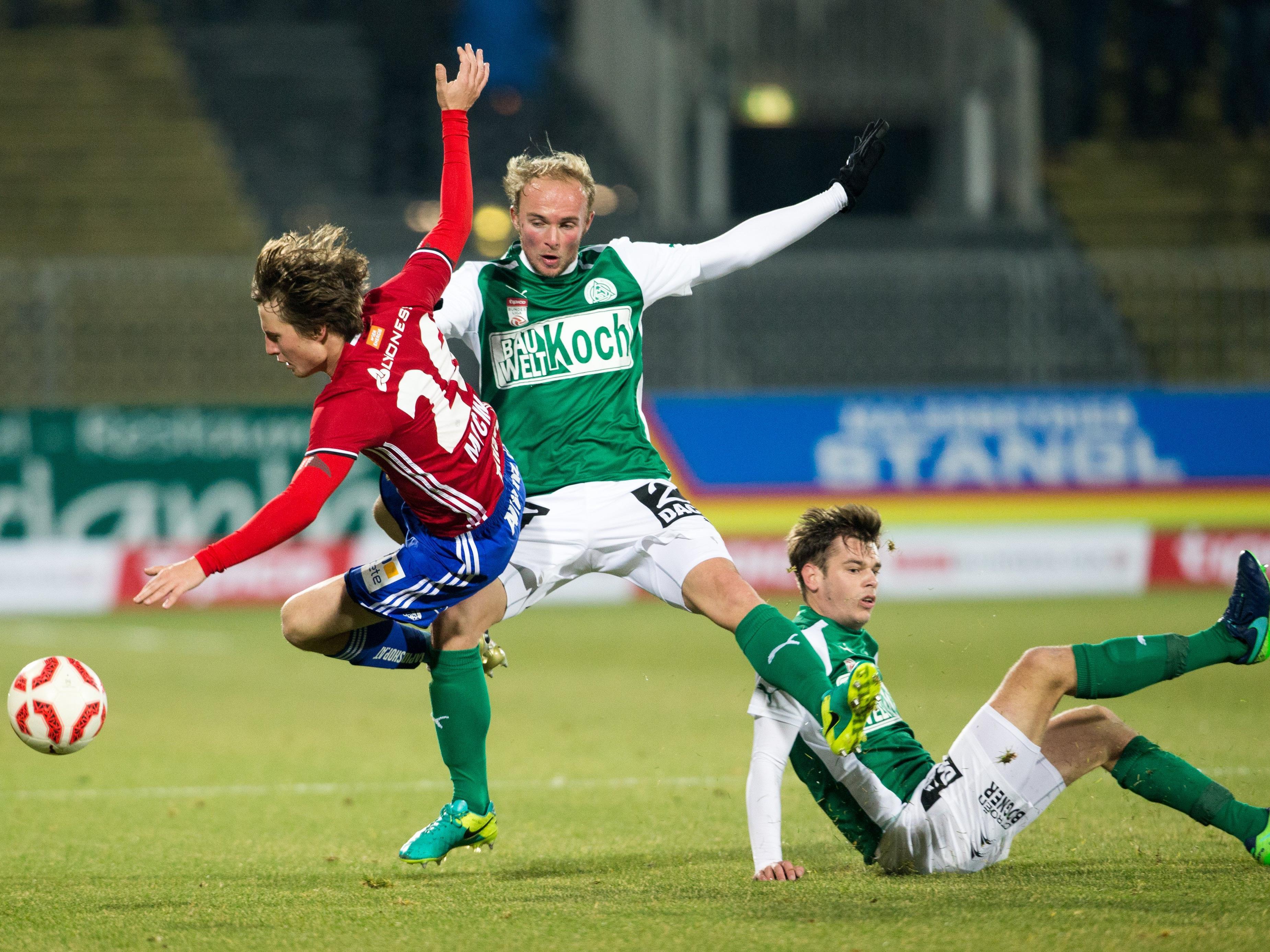 Rapid Wien konnte auch gegen Tabellenschlusslicht Mattersburg nicht voll punkten.