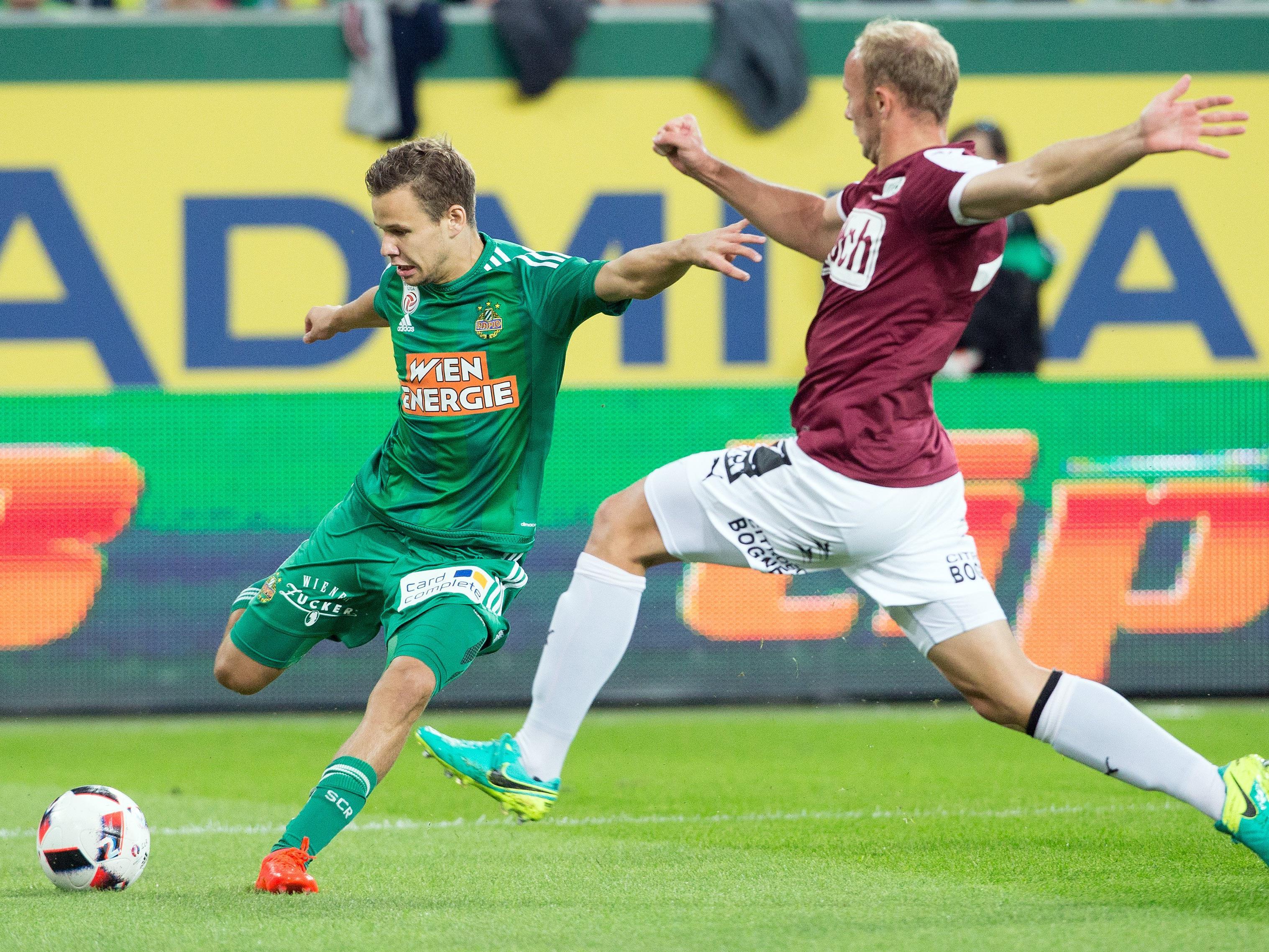 LIVE-Ticker zum Spiel SV Mattersburg gegen SK Rapid Wien ab 20.30 Uhr.