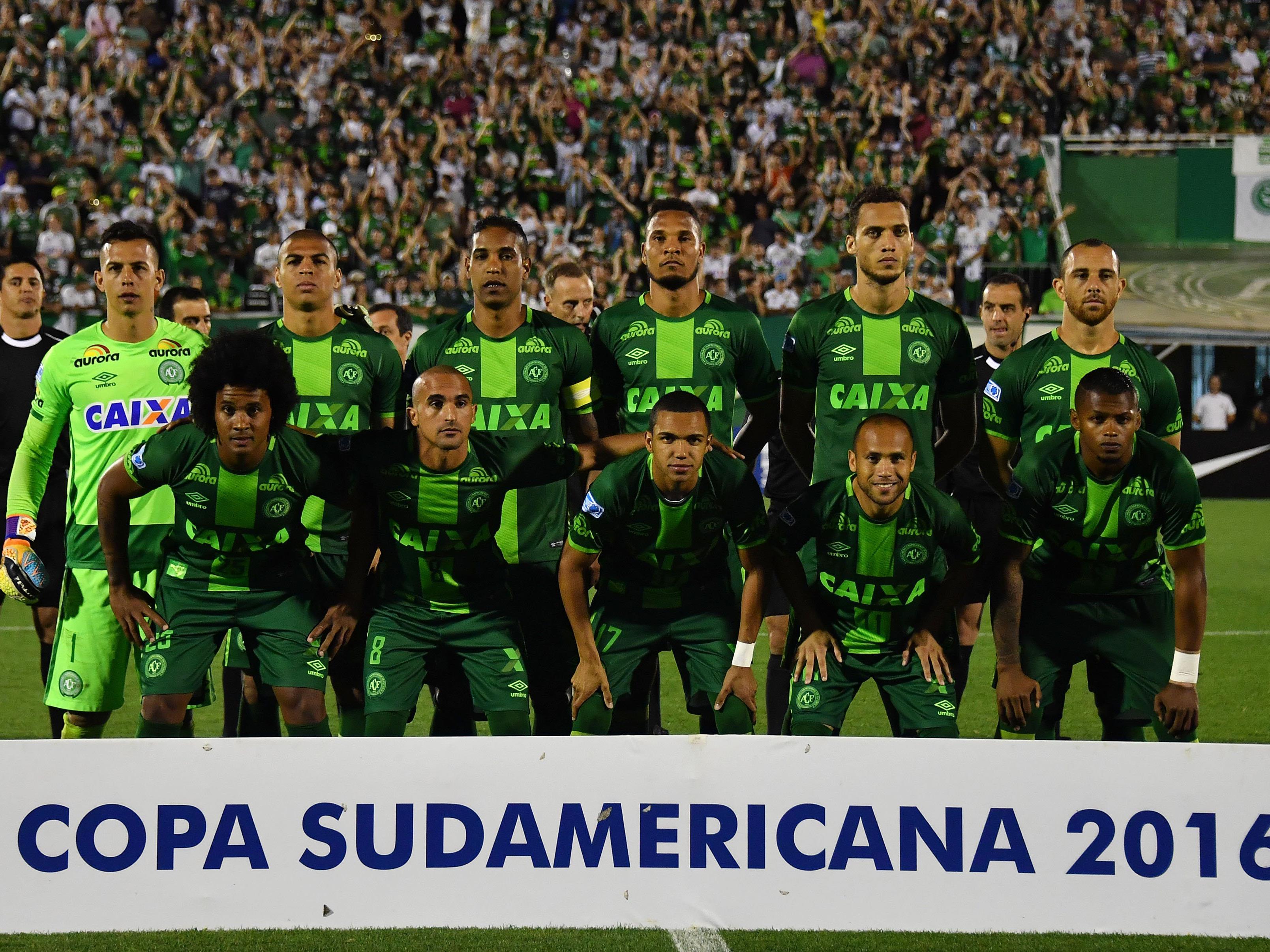 Die Mannschaft des brasilianischen Erstligisten Chapecoense befand sich in dem abgestürzten Flugzeug.