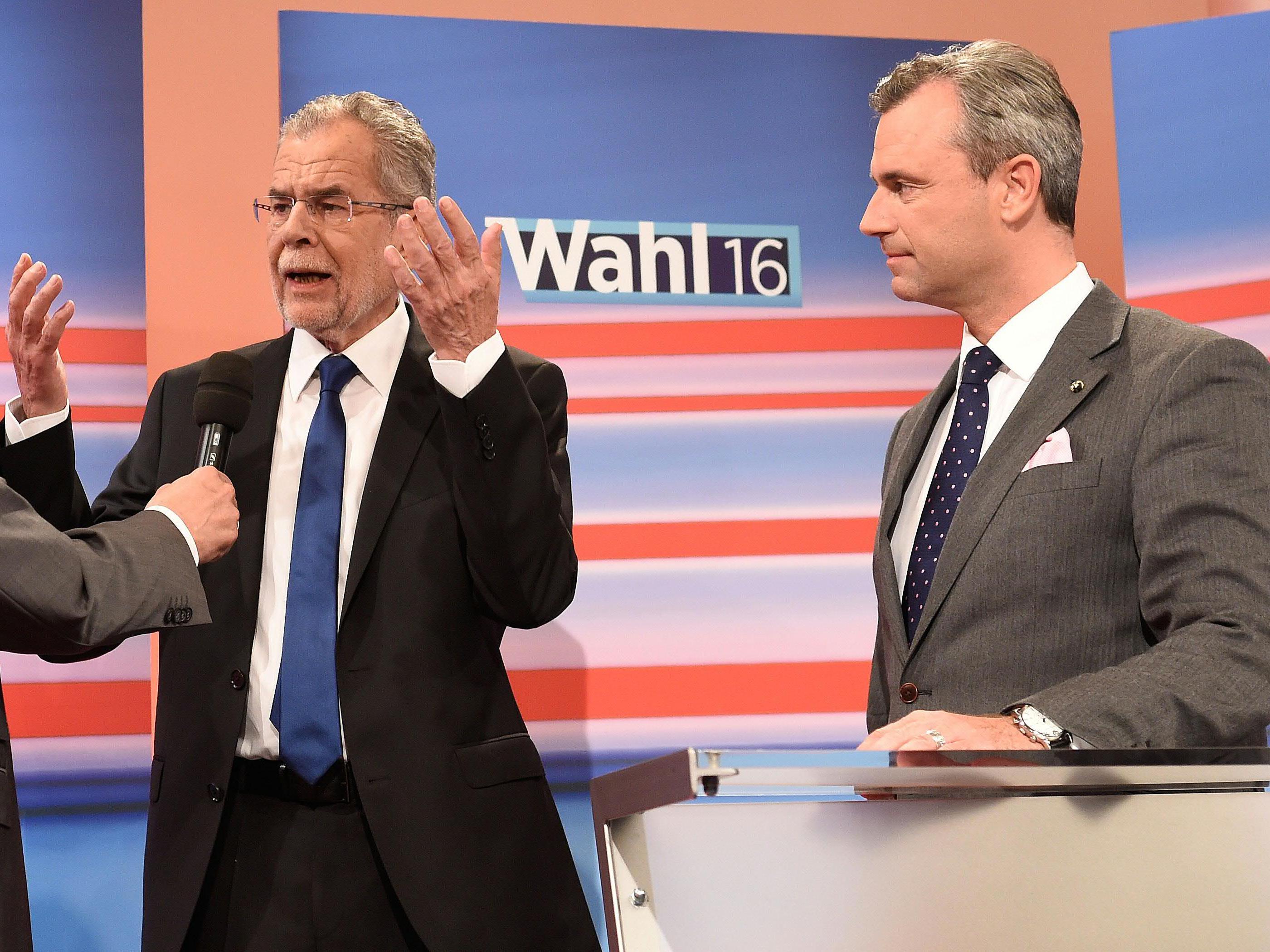 Der Kampf um noch nicht entschlossene Stimmen bei den ÖVP-nahen Wählern wird von beiden Seiten forciert