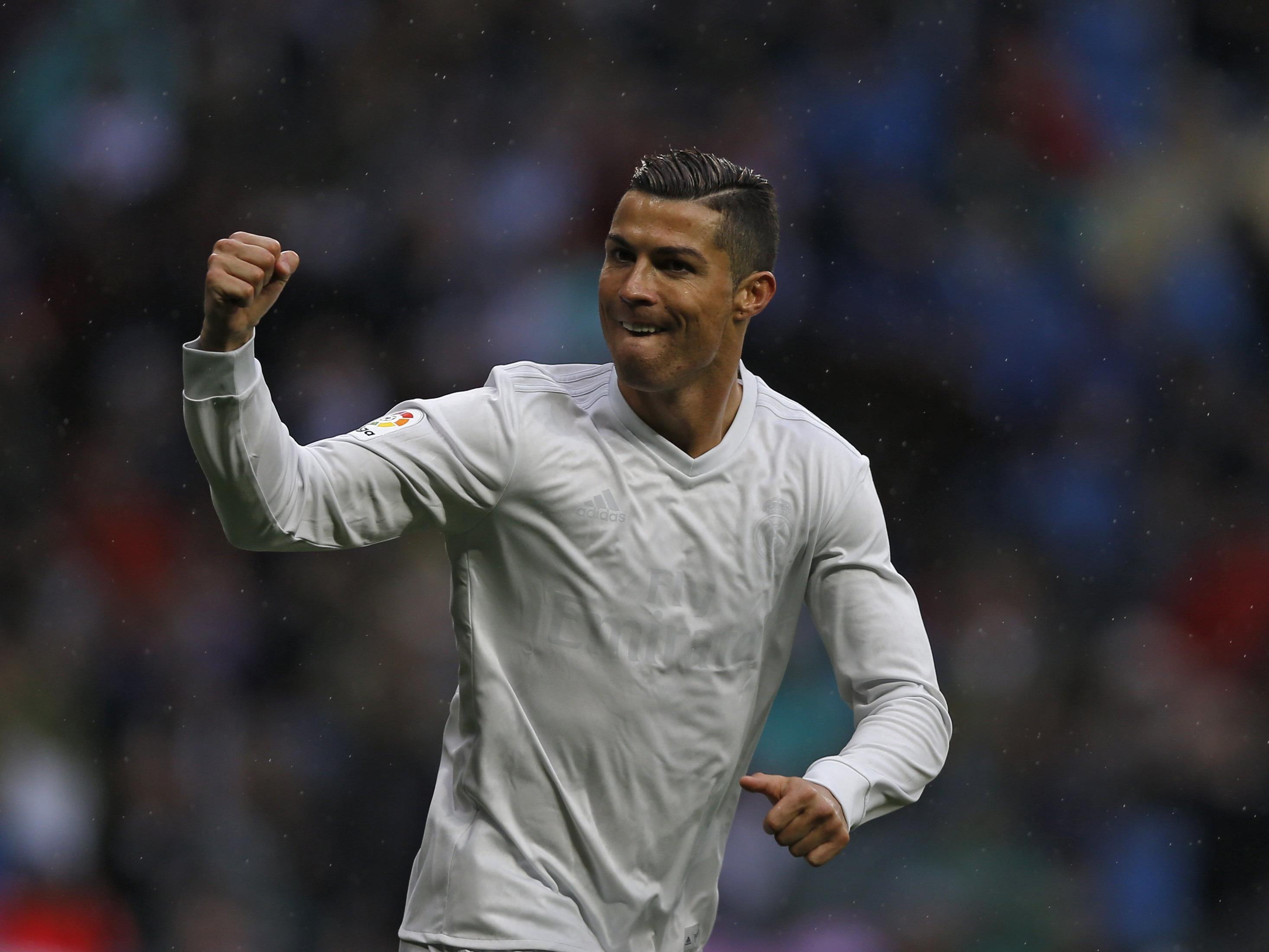 Cristiano Ronaldo ist nicht nur auf dem Feld gerne schnell unterwegs.