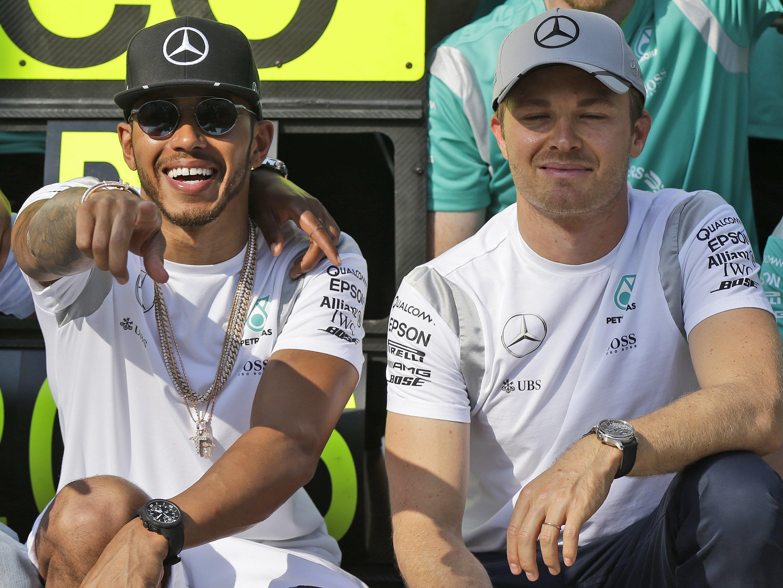 Hamilton und rosberg haben die WM-Entscheidung bis zum Saisonfinale in Abu Dhabi aufgeschoben.