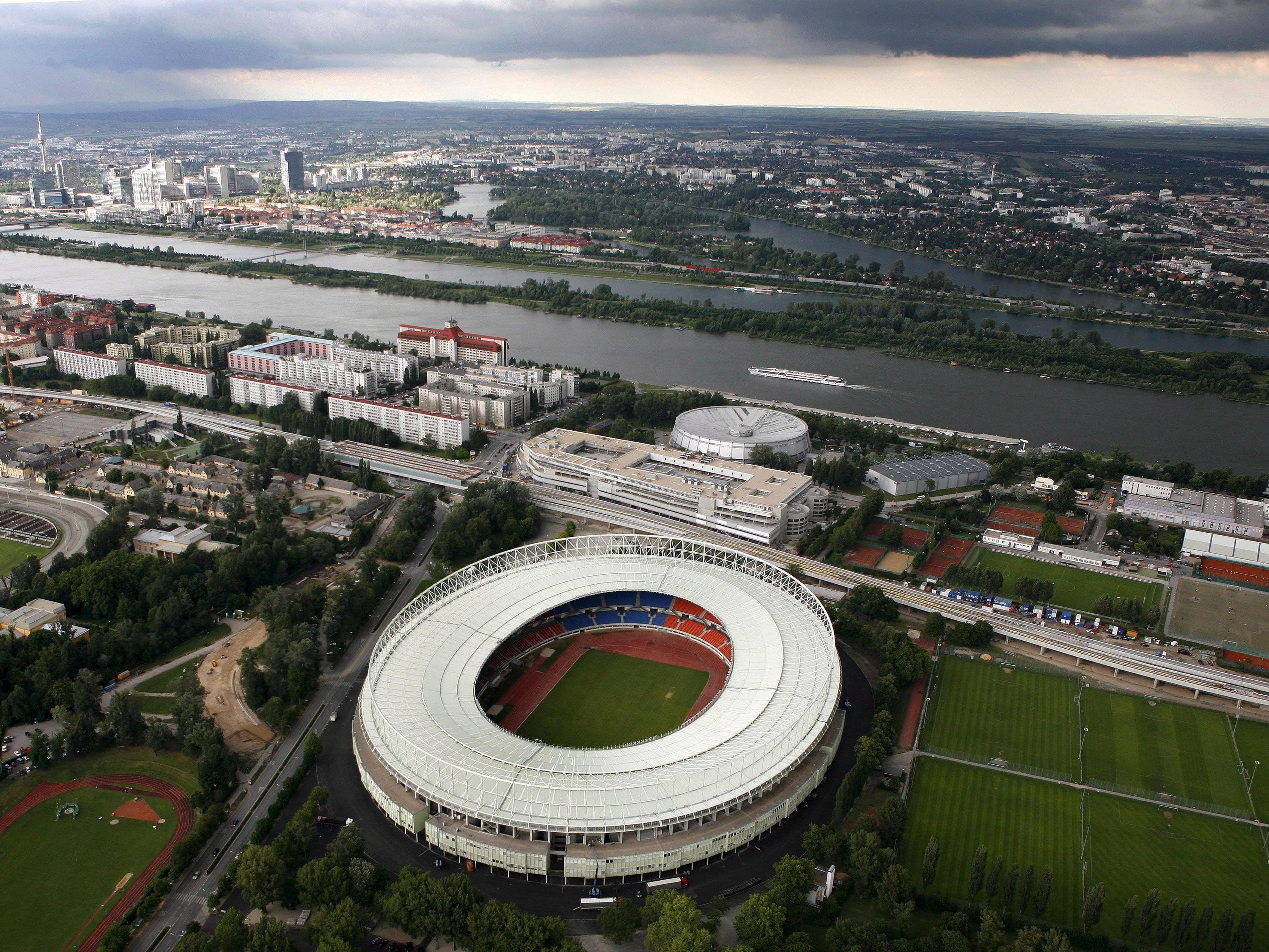 Eine Studie soll Klarheit über die Zukunft des Happel-Stadions bringen