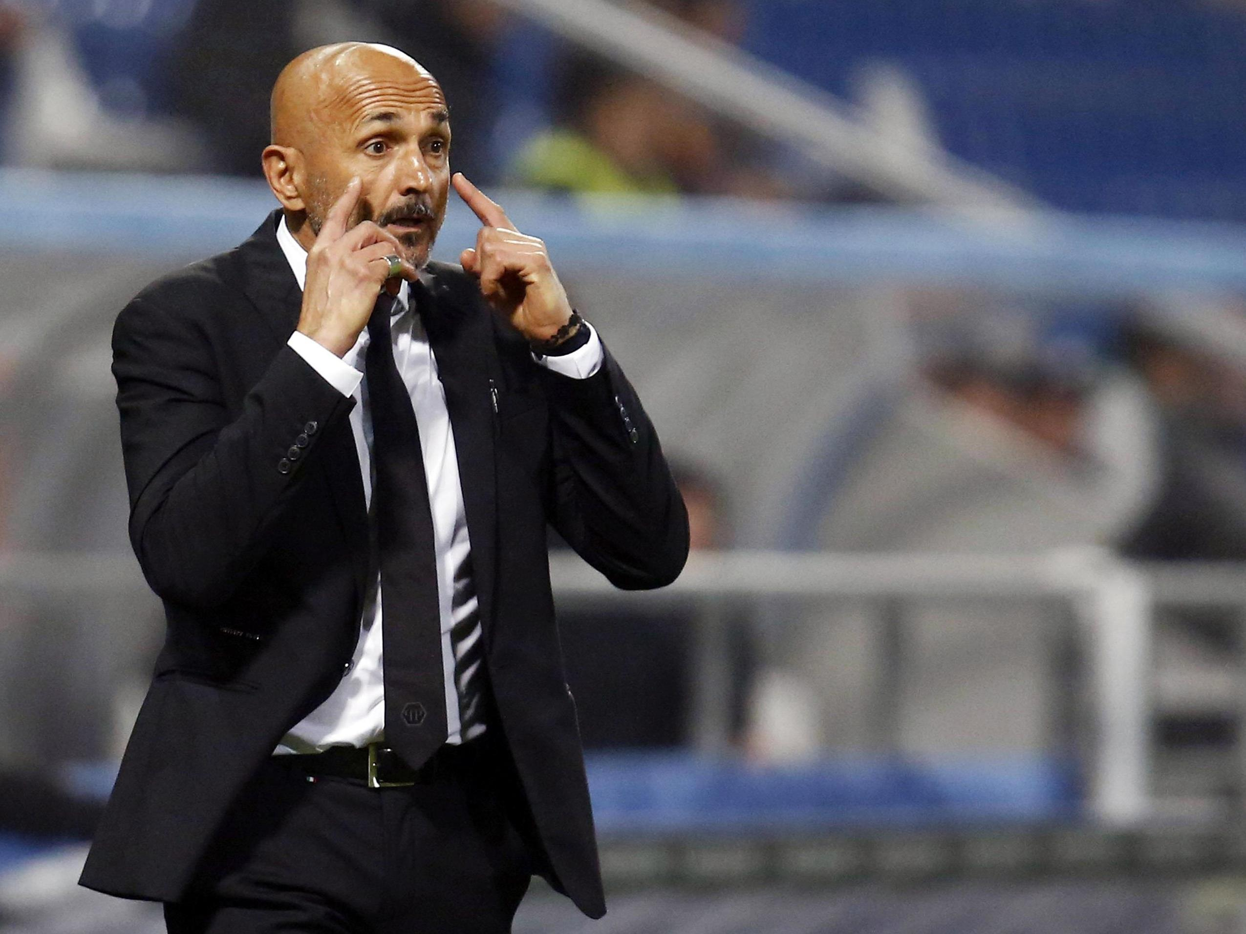 AS Roma-Trainer Luciano Spalletti will in der Europa League gegen Austria Wien nichts anbrennen lassen.