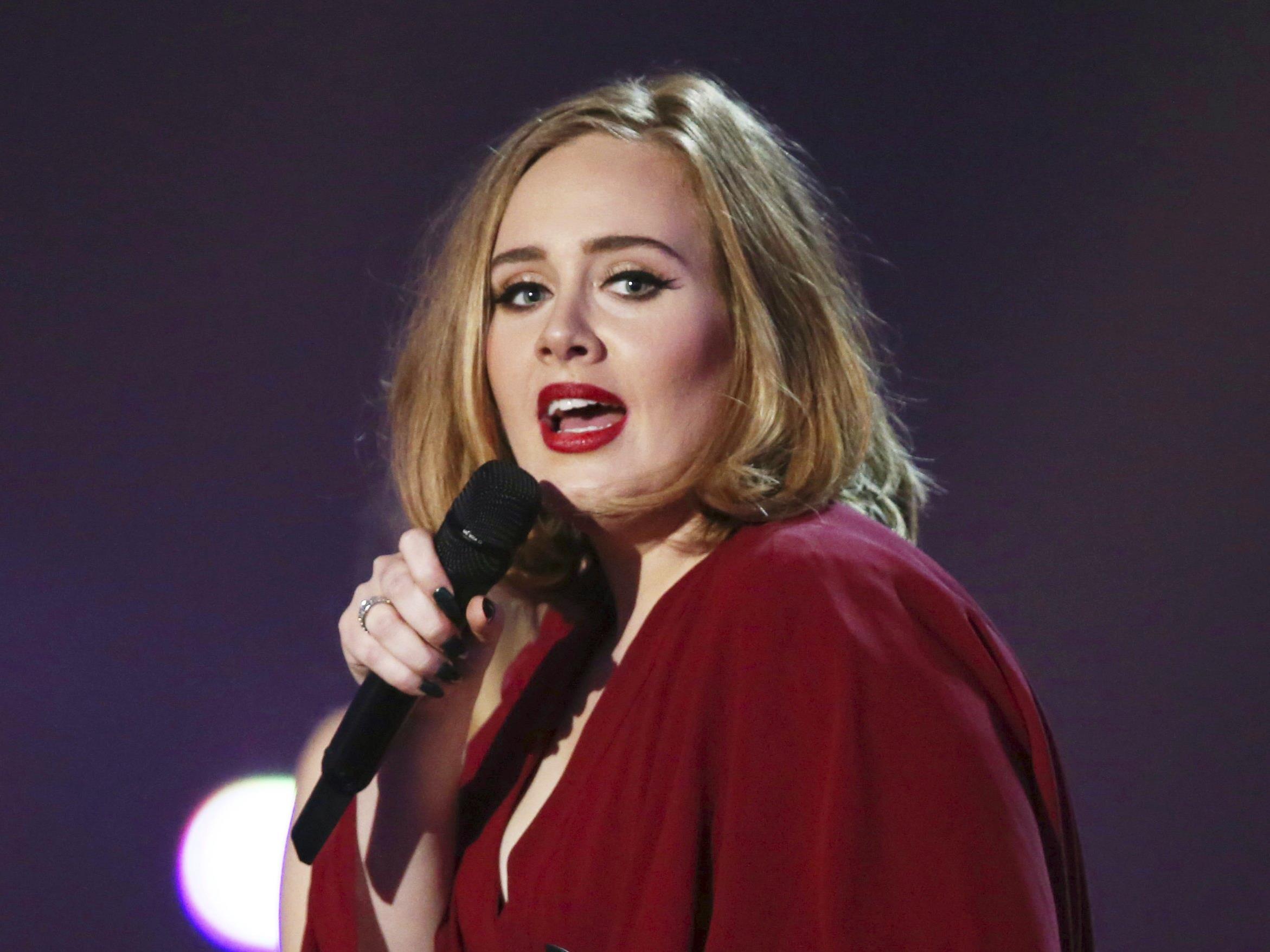 Adele hatte ein Alkoholproblem