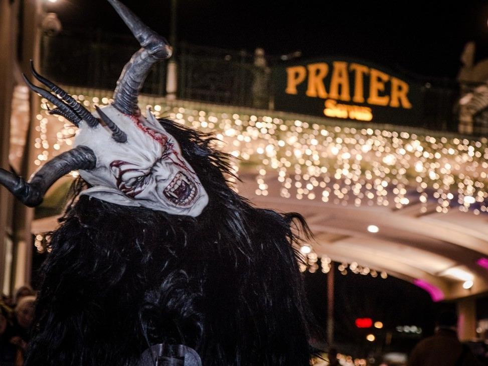 Am 27. November findet der Perchtenlauf im Wiener Prater statt